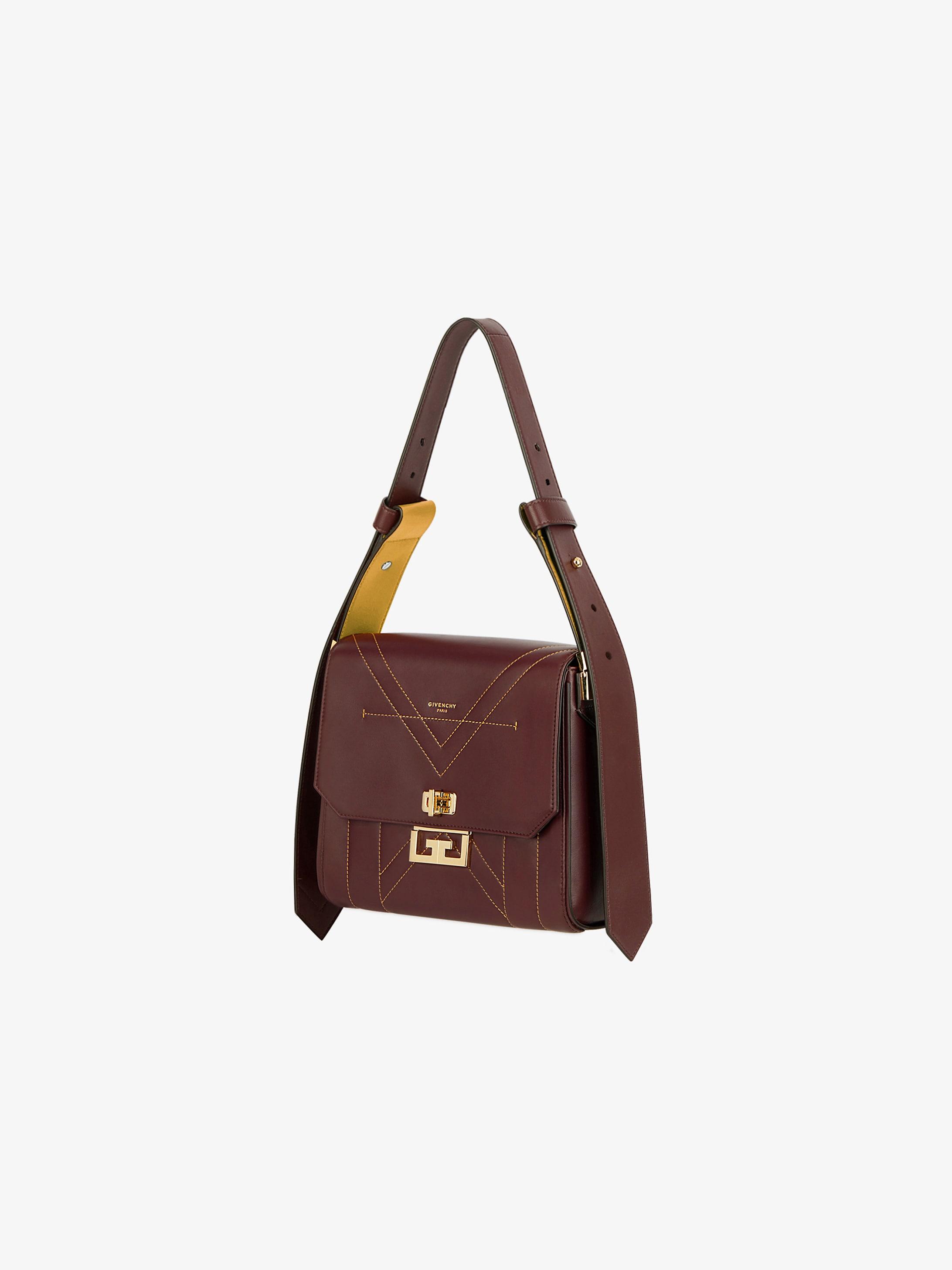 Medium Eden bag in contrasting leather