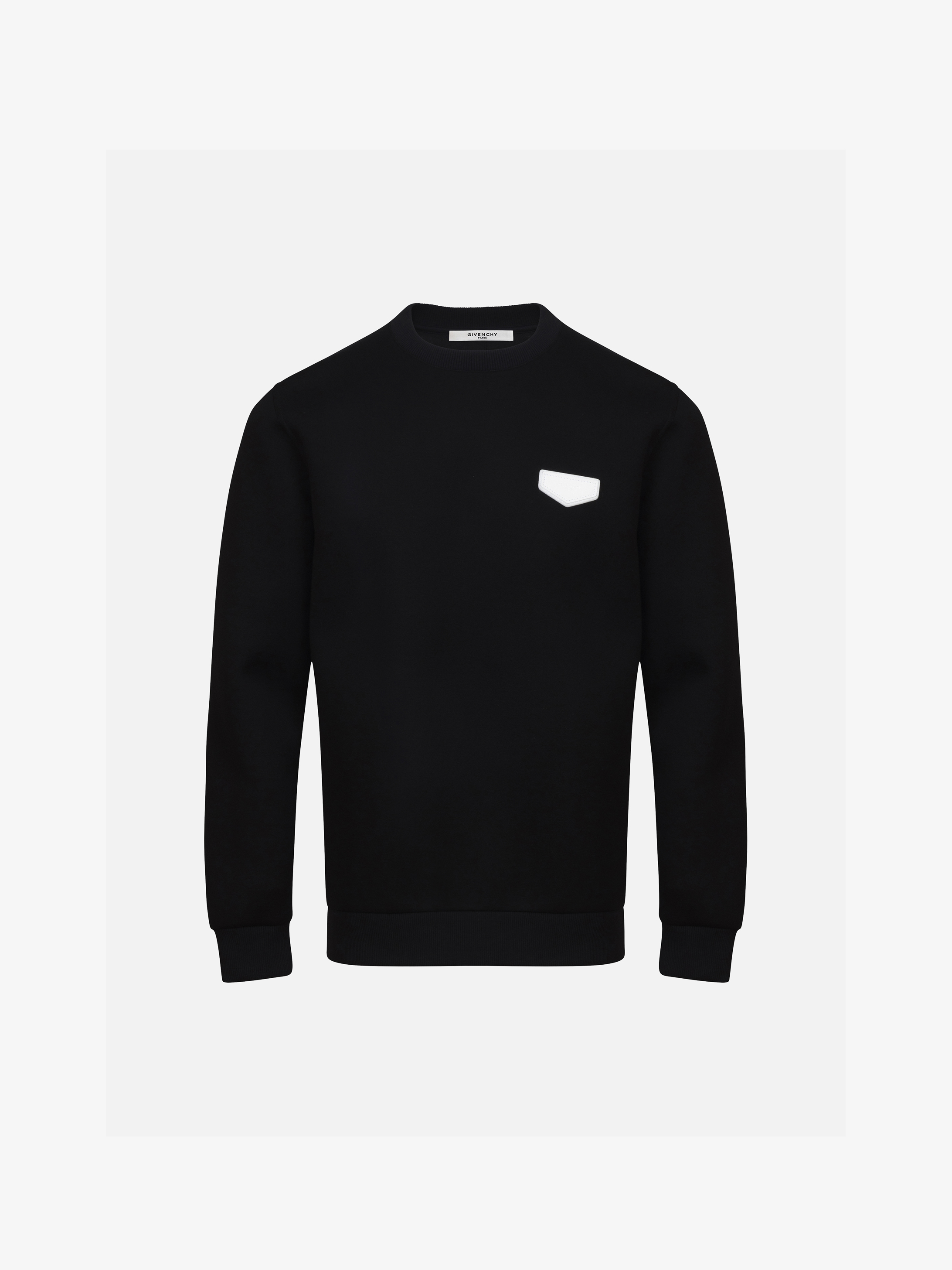 GIVENCHY patch sweatshirt in neoprene