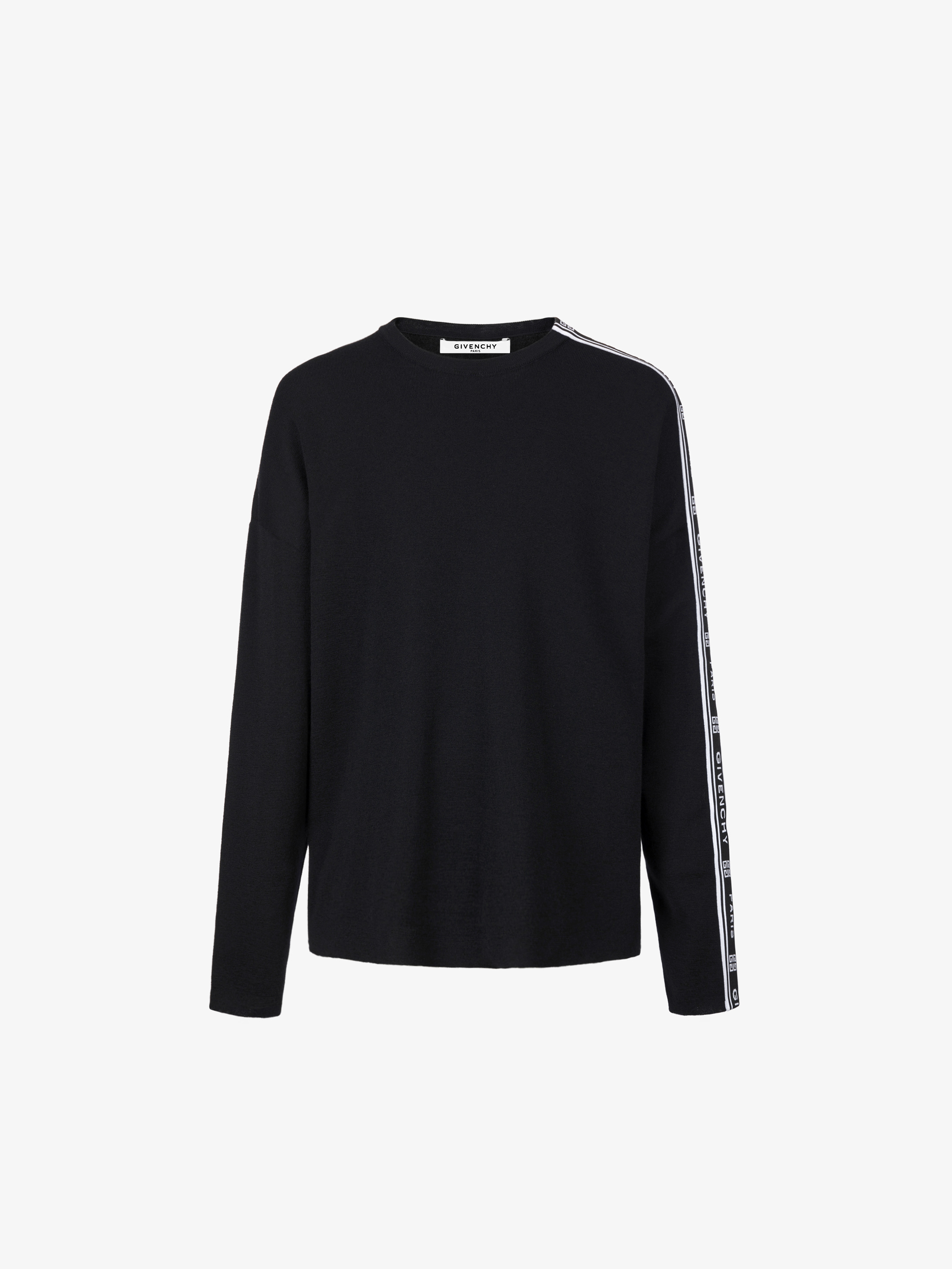 GIVENCHY 4G webbing jumper in wool