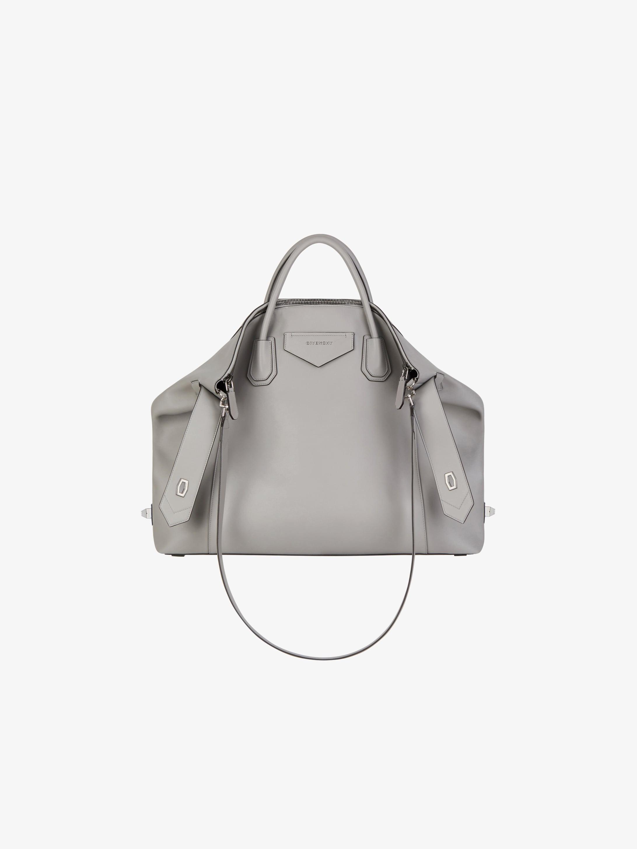 Large Antigona Soft bag in smooth leather