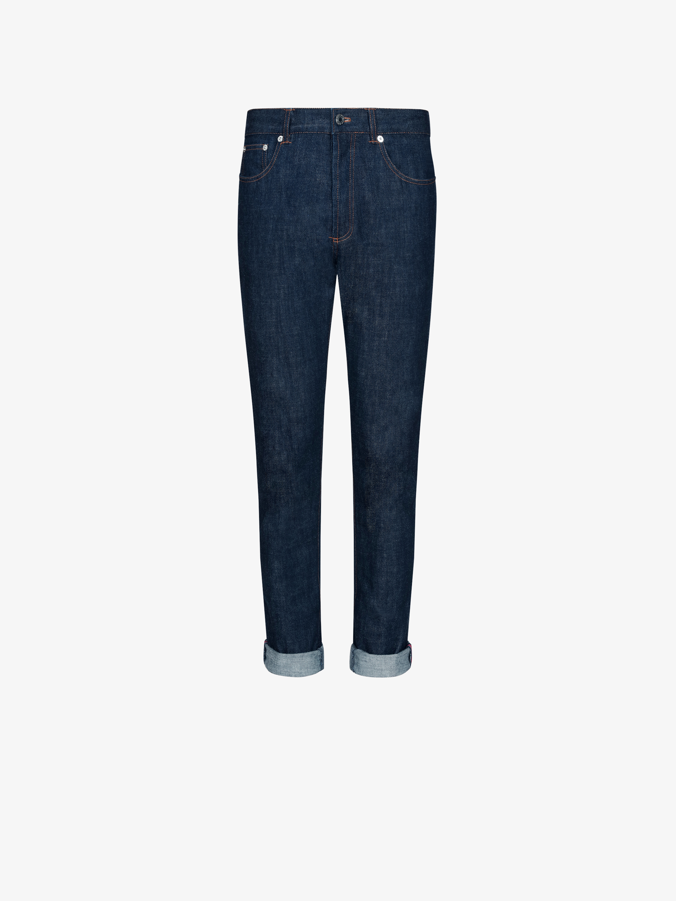 Slim fit jeans with stars band