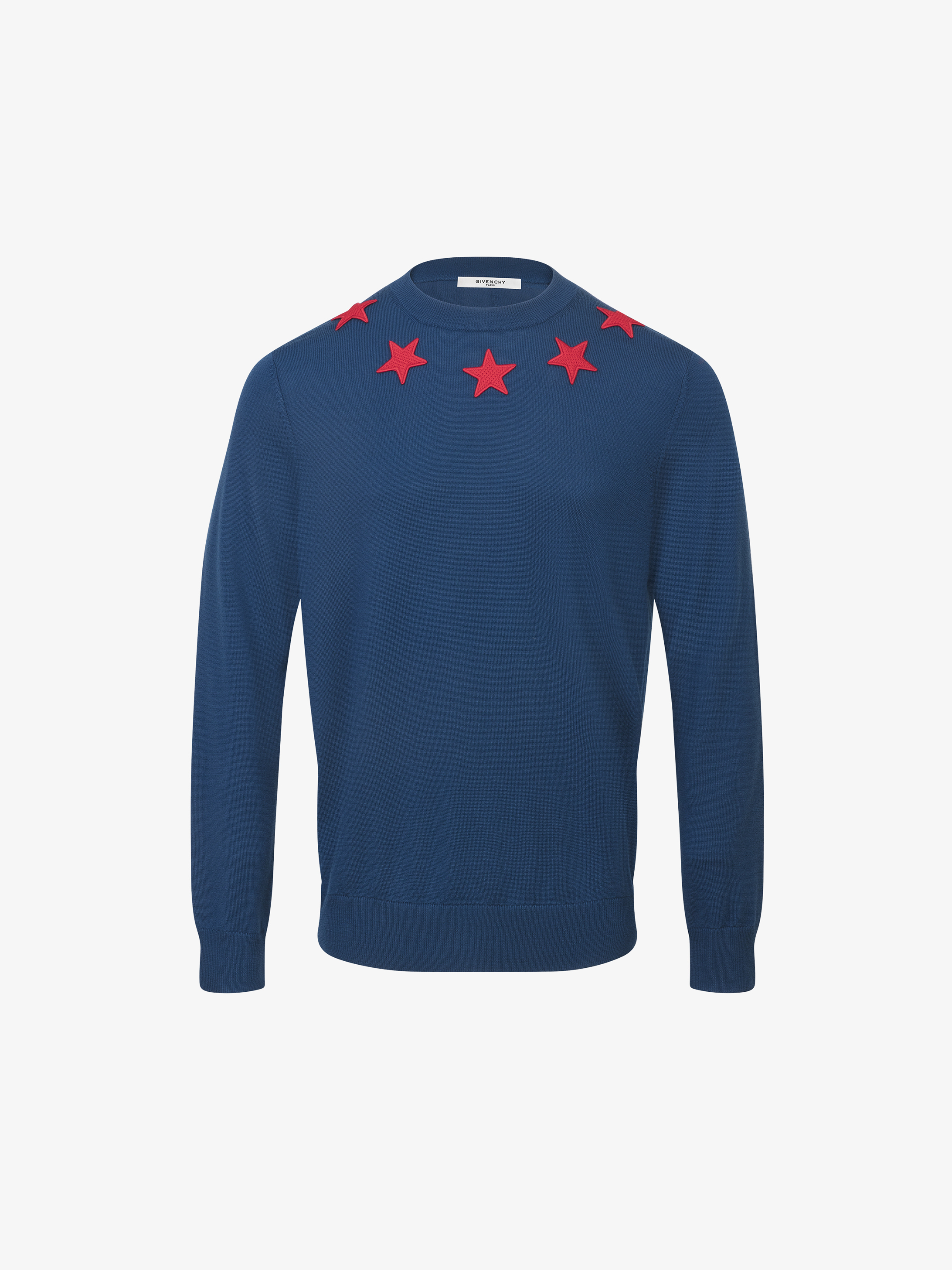 Givenchy Contrasting stars jumper  ff1f9c48a
