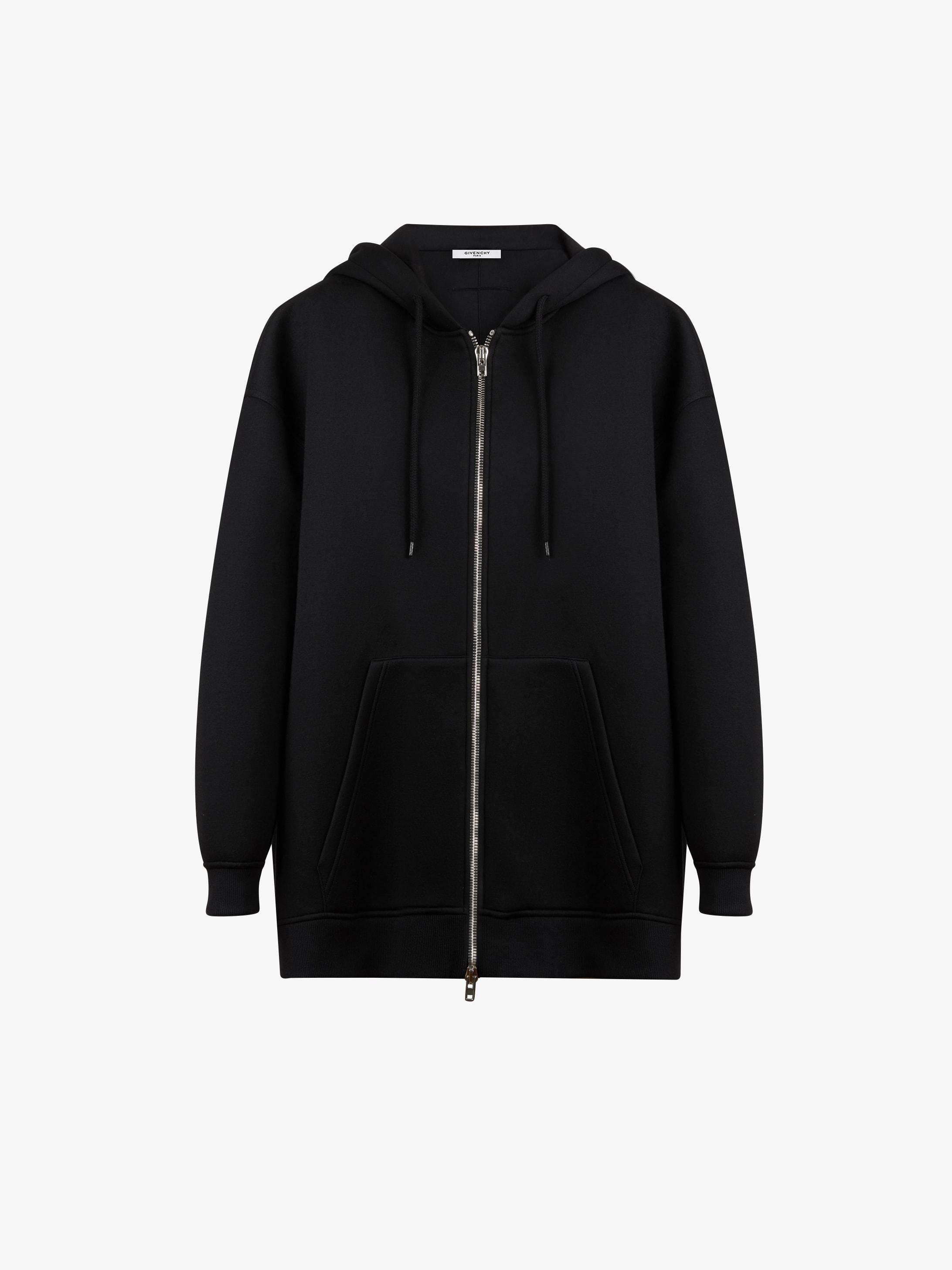 GIVENCHY PARIS printed hoodie jacket