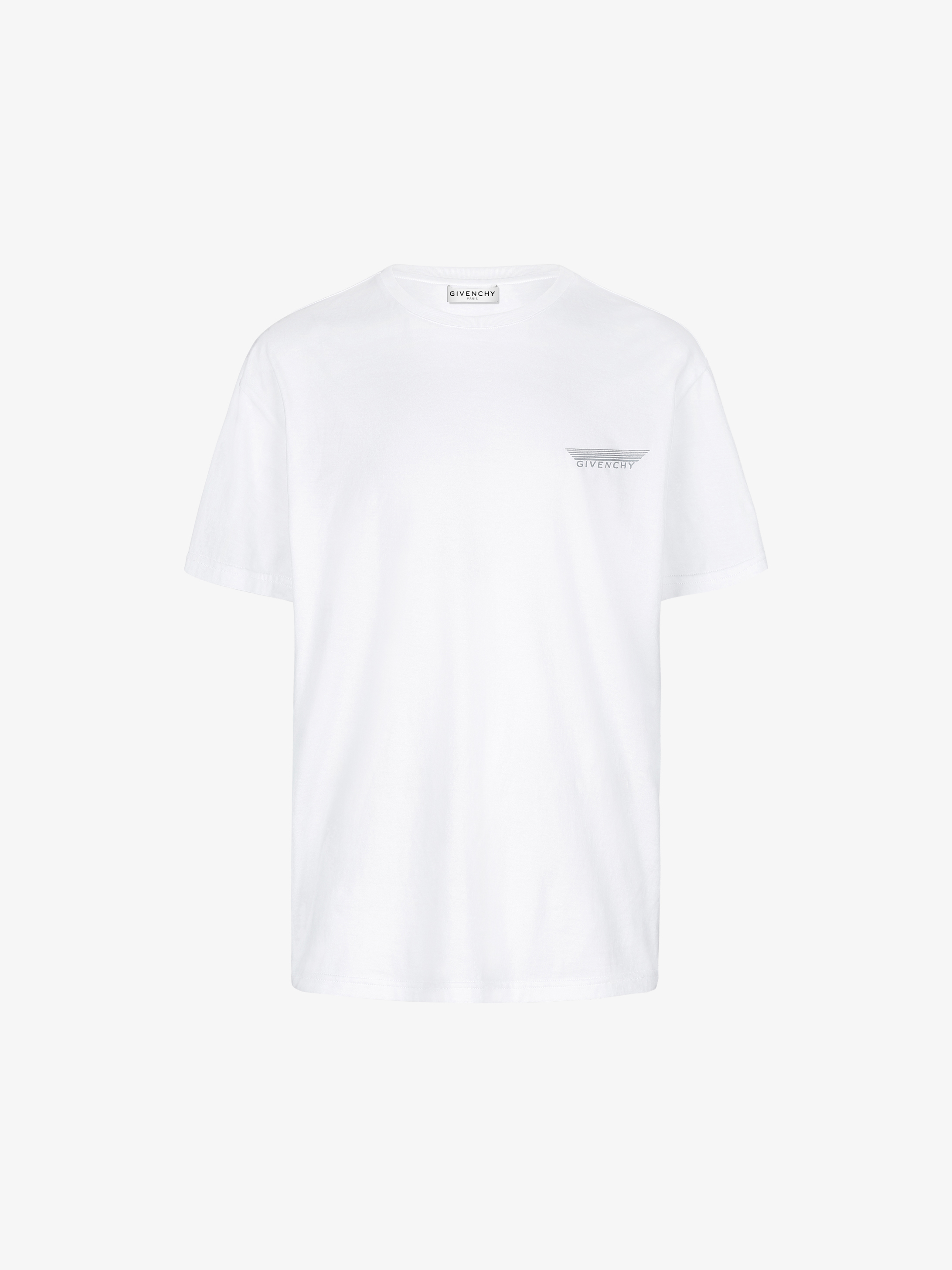 T-shirt con strisce GIVENCHY riflettenti