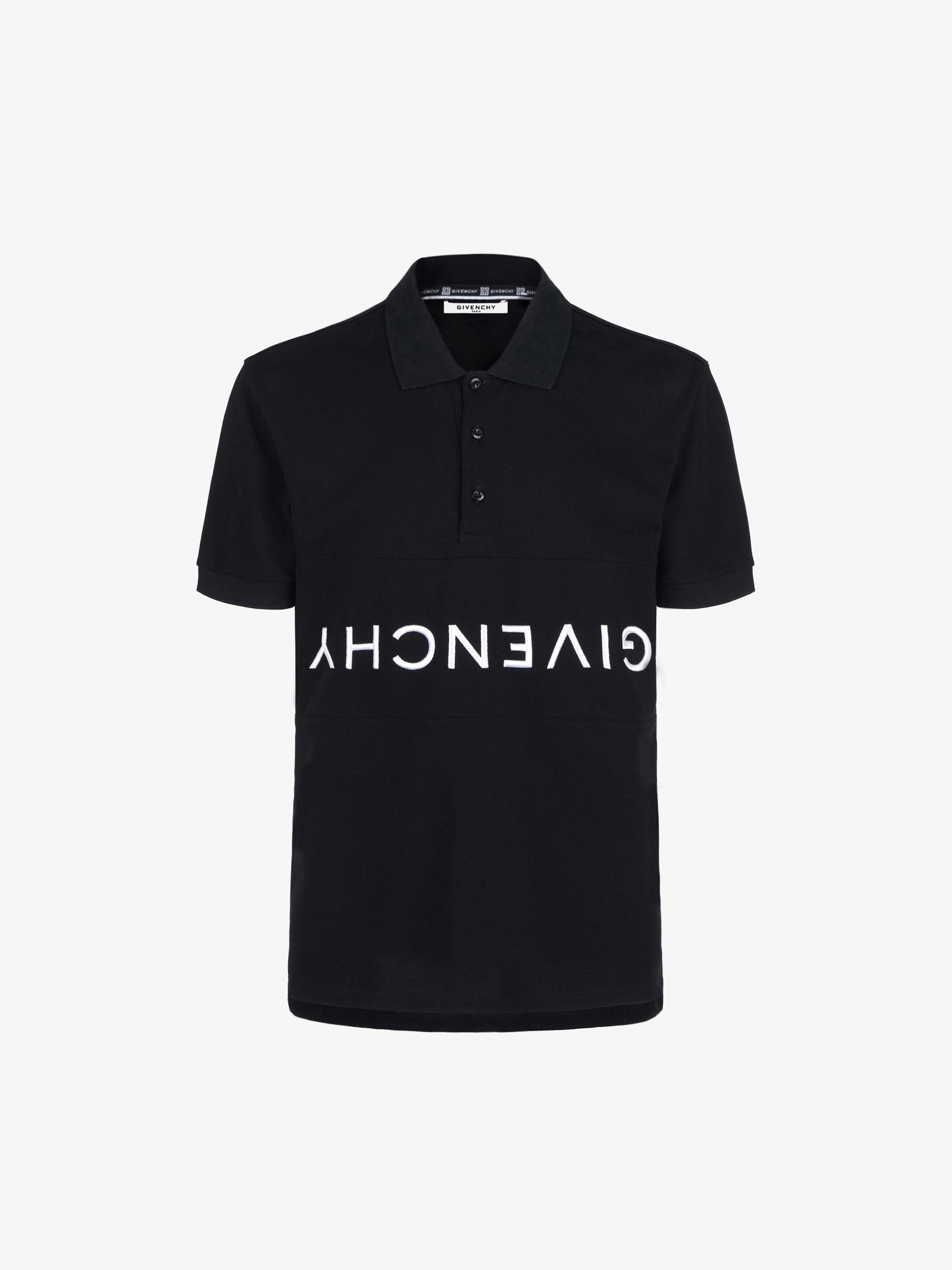 GIVENCHY reverse polo shirt