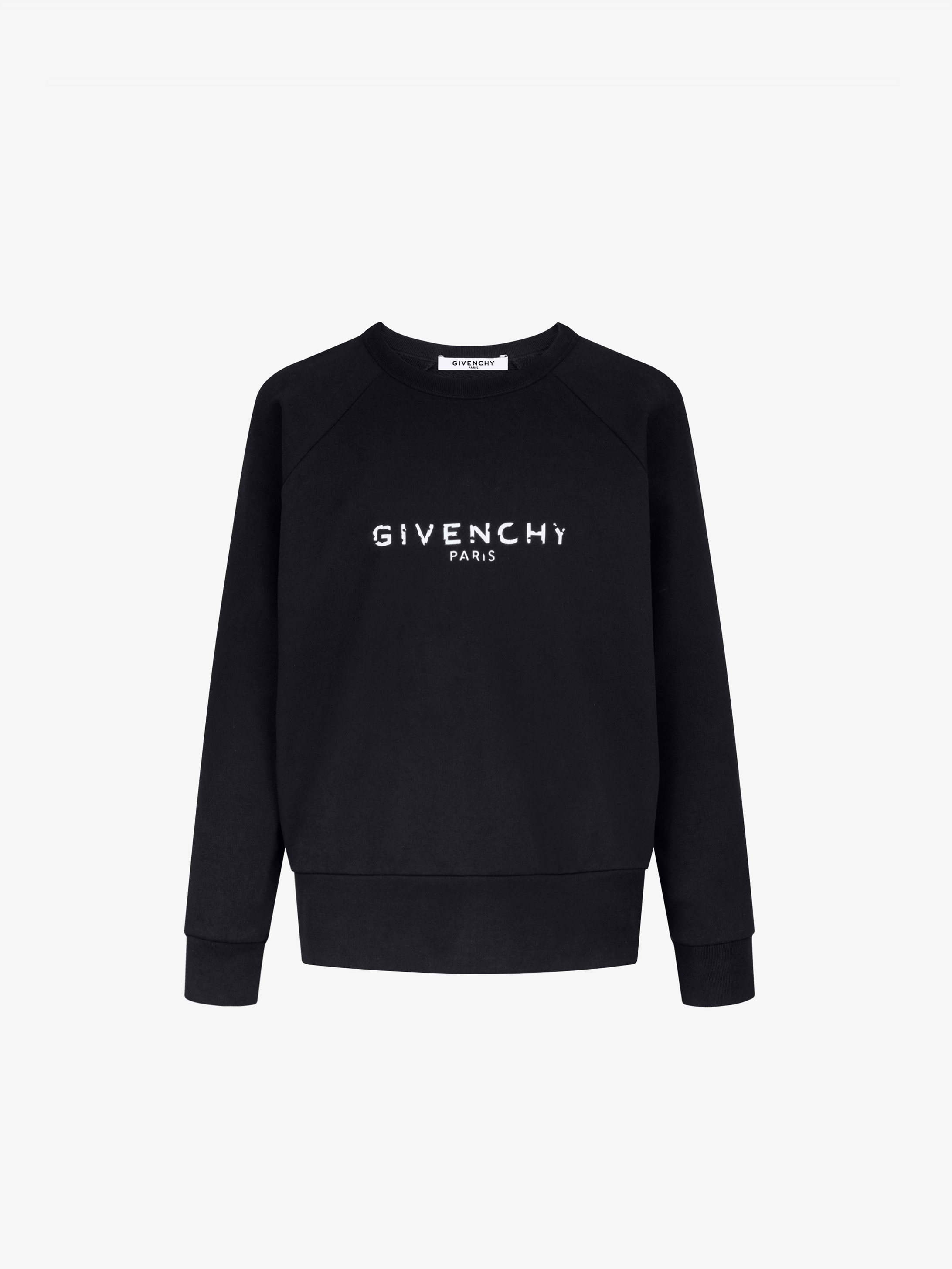Blurred GIVENCHY PARIS sweatshirt  d2a4cd926b0c