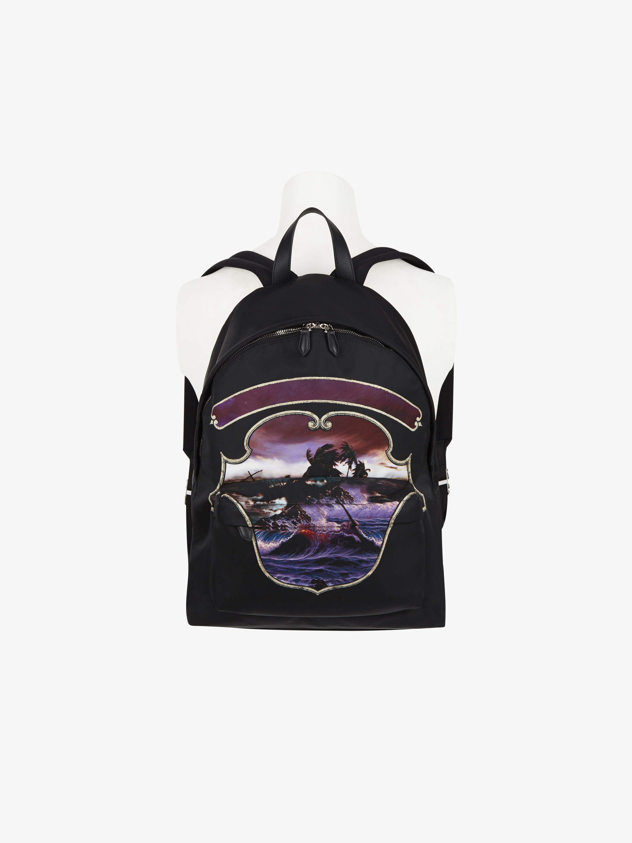 Hawaï crest printed backpack