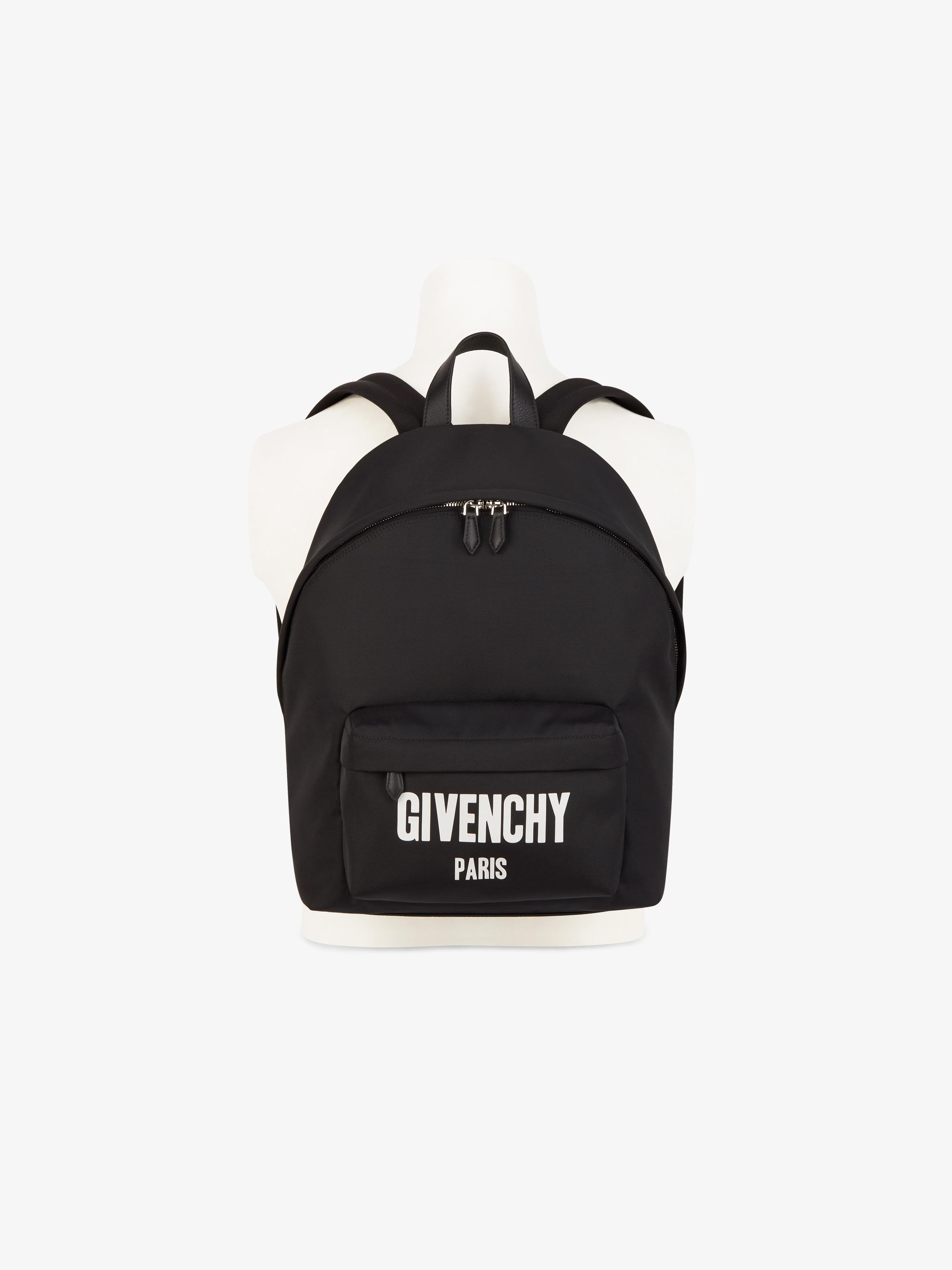 GIVENCHY PARIS printed backpack