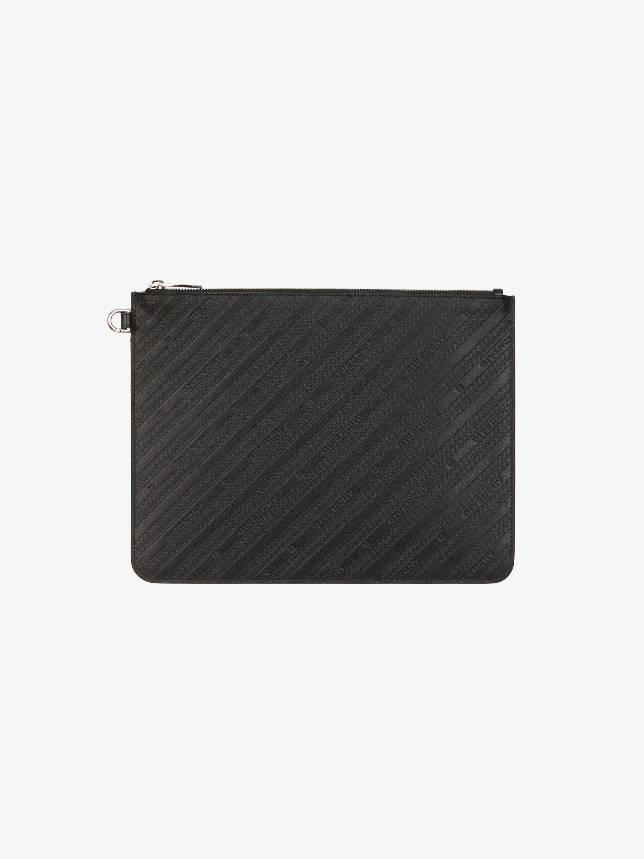 GIVENCHY large pouch in leather