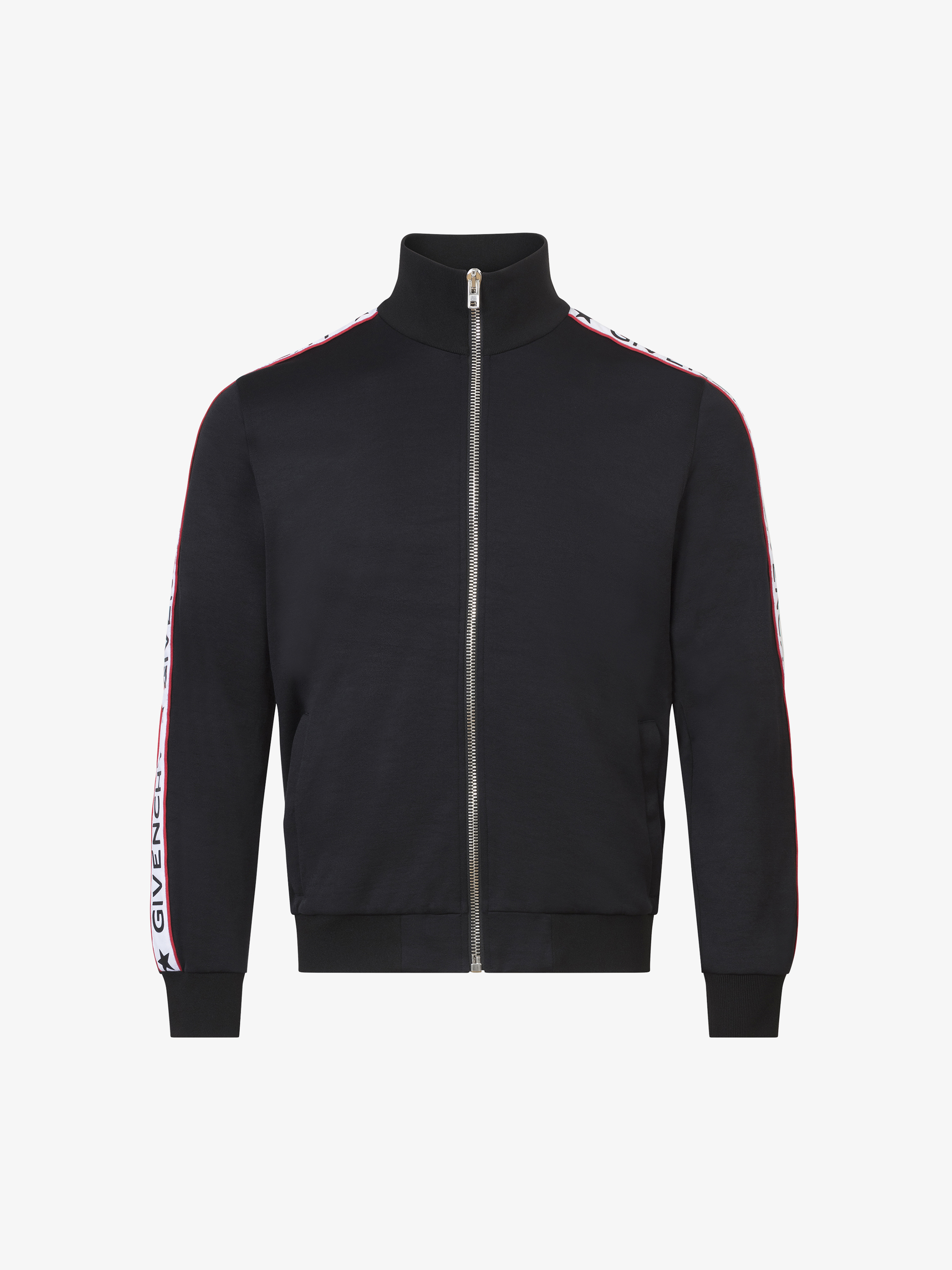 GIVENCHY bands zipped jacket