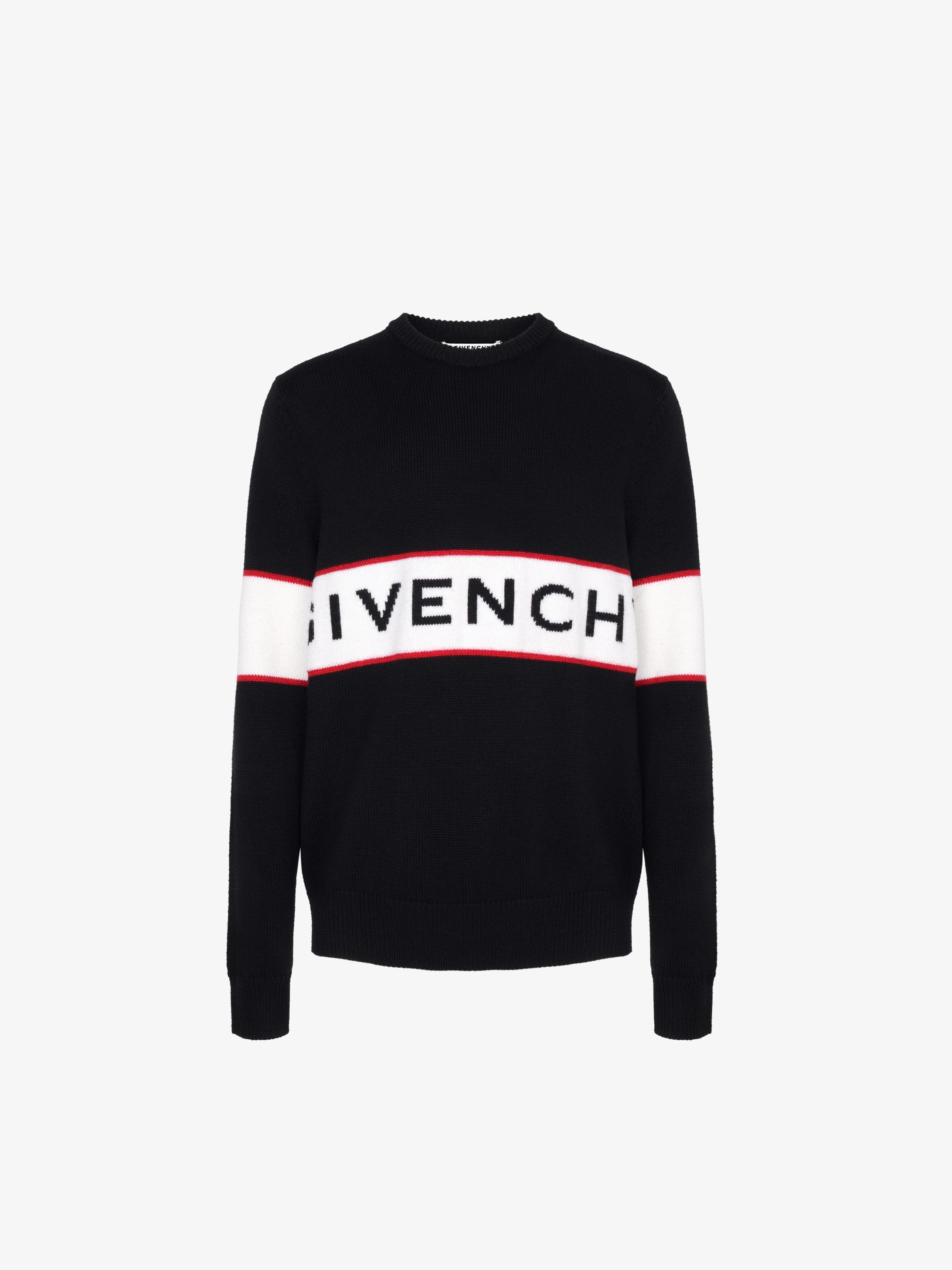 GIVENCHY band heavy sweater