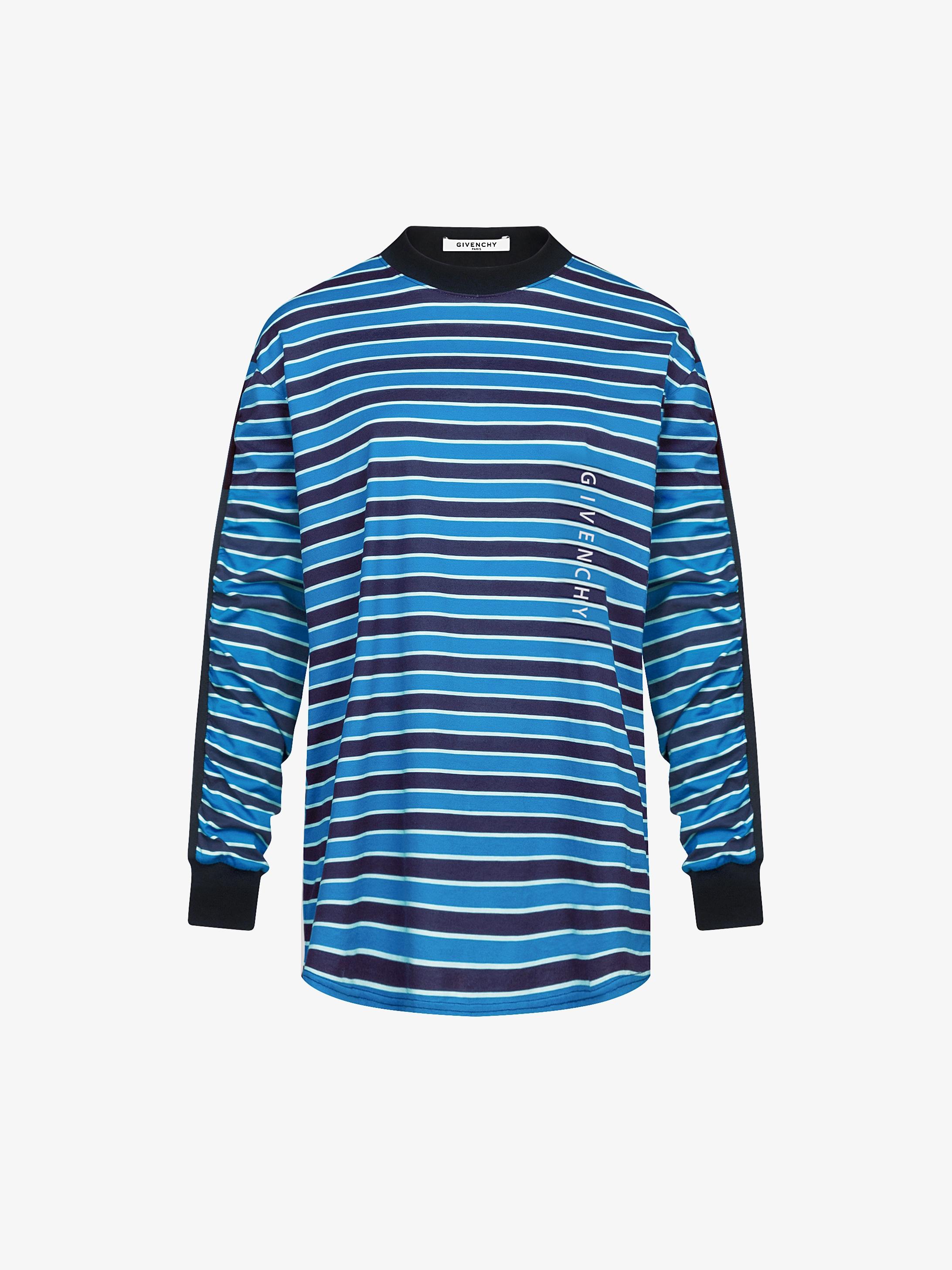 GIVENCHY stripes long sleeves sweatshirt