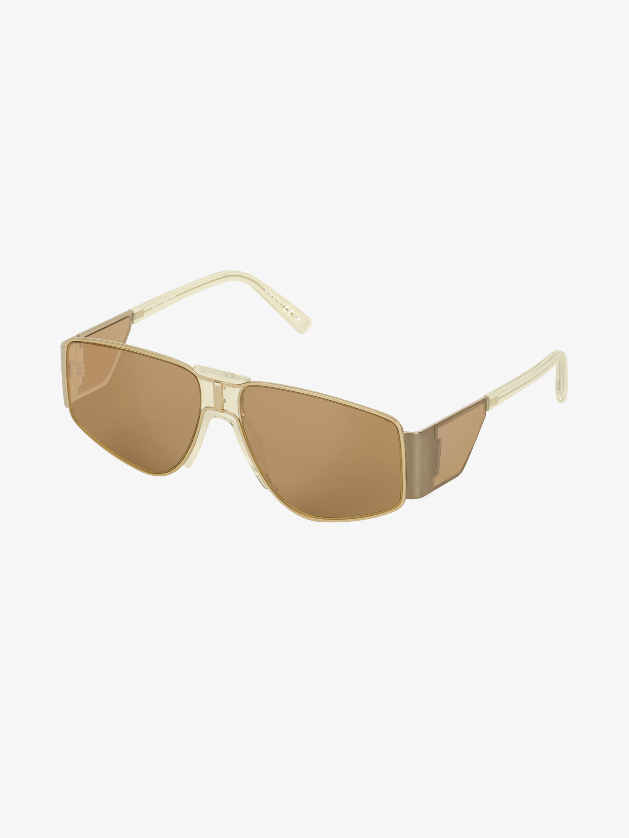 GV Vision unisex sunglasses in metal