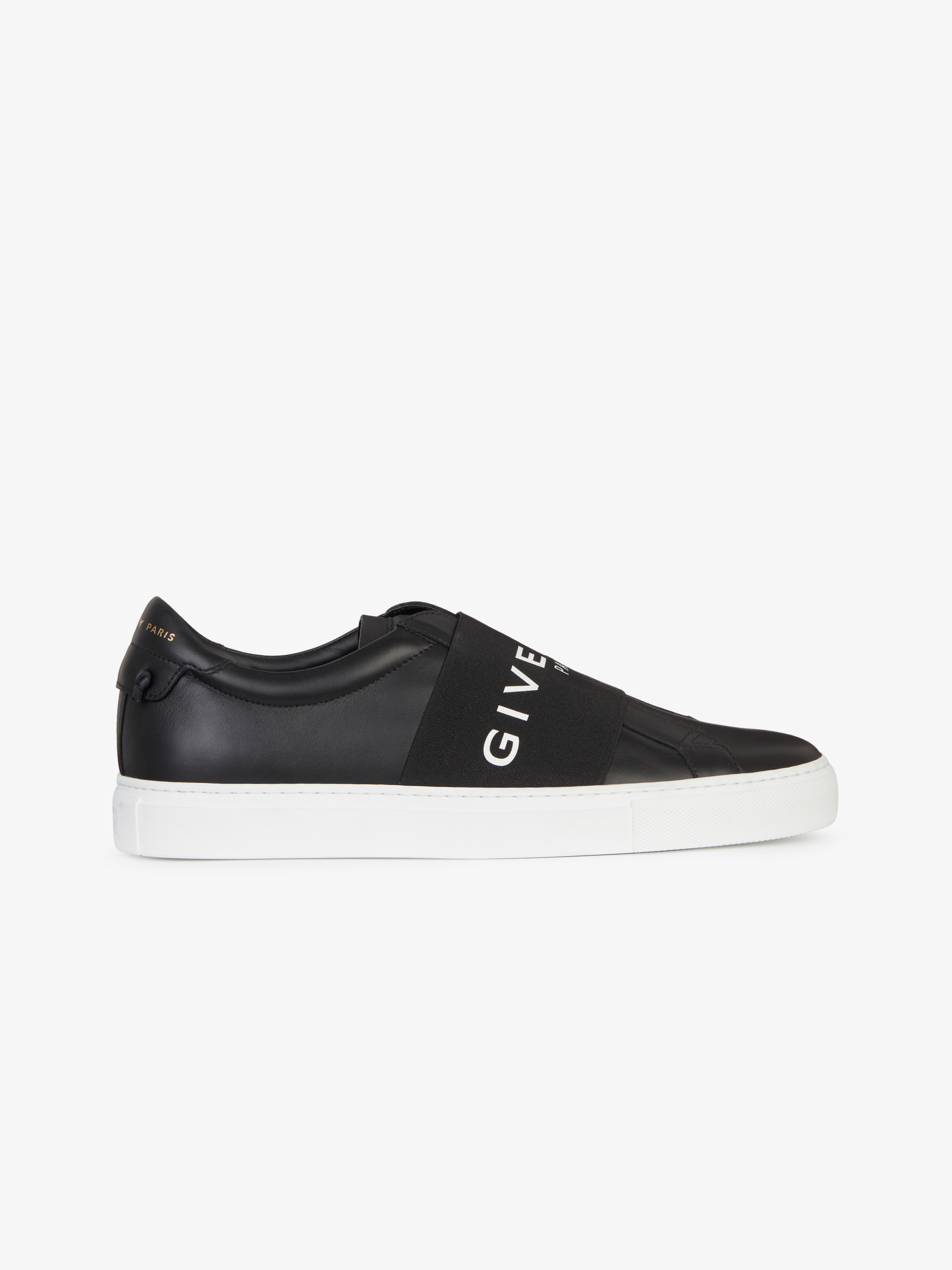 GIVENCHY PARIS strap sneakers in leather