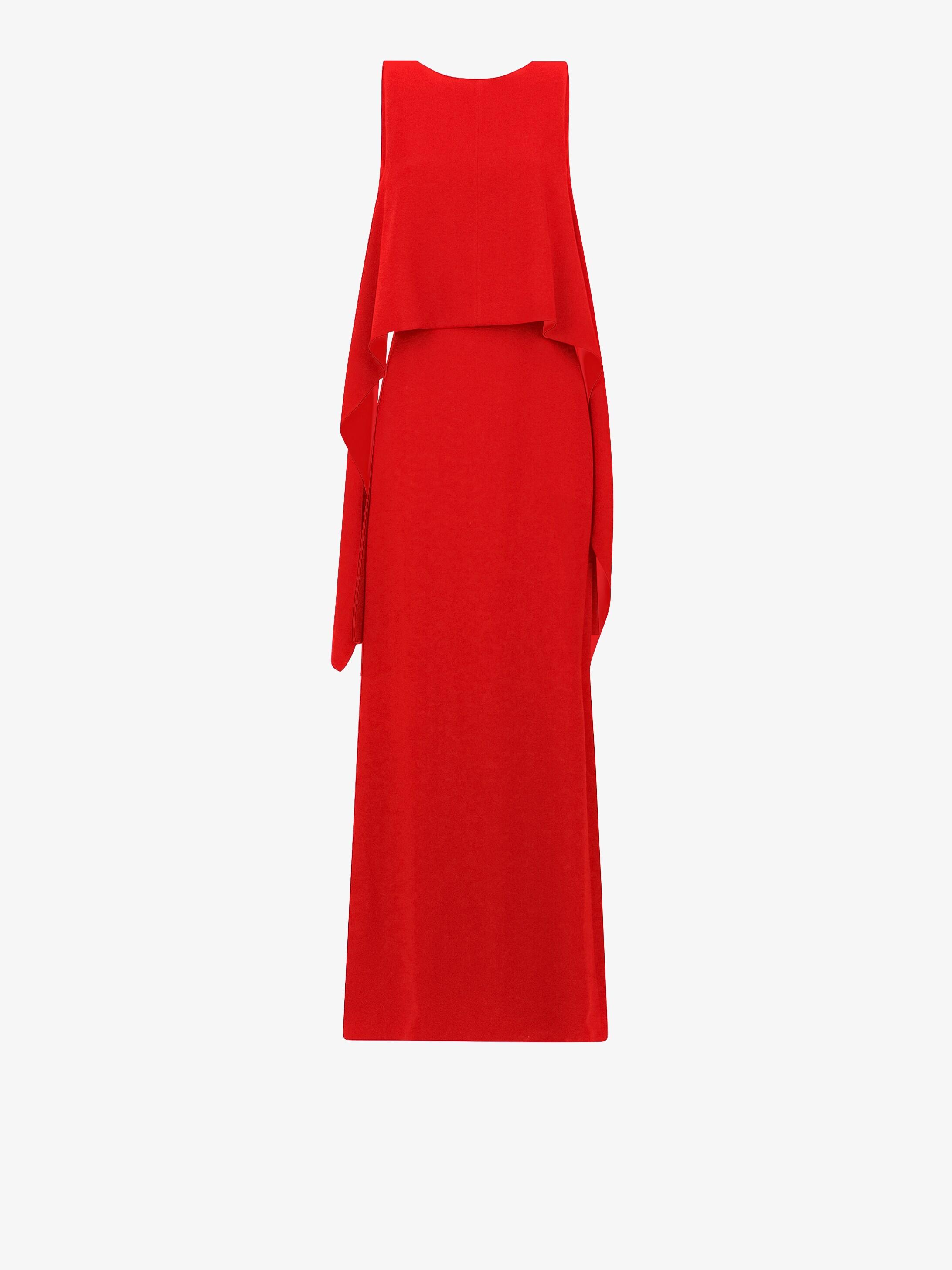 Drapped long dress