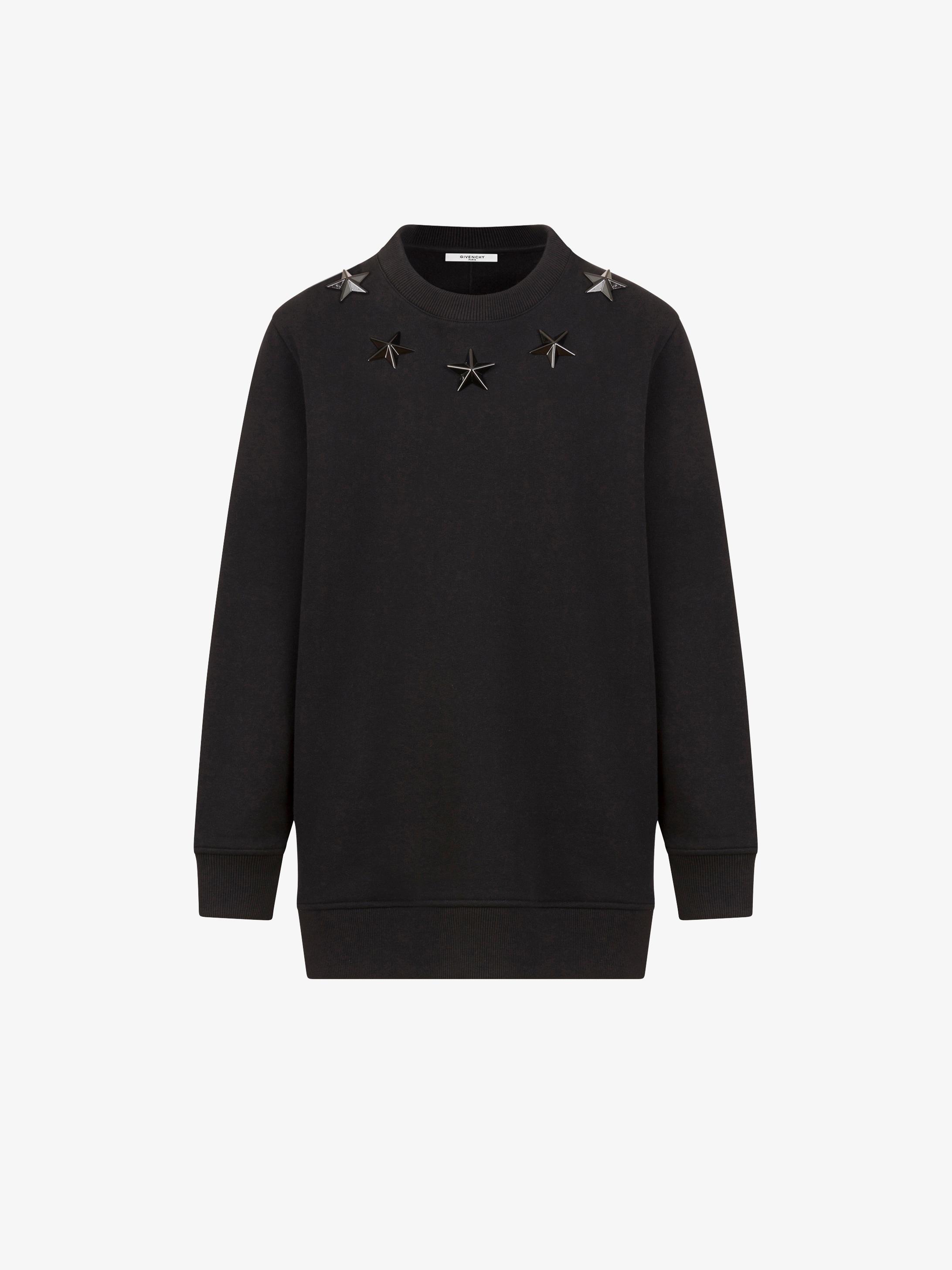 3ecfc730b3be Givenchy Stars embroidered Sweatshirt