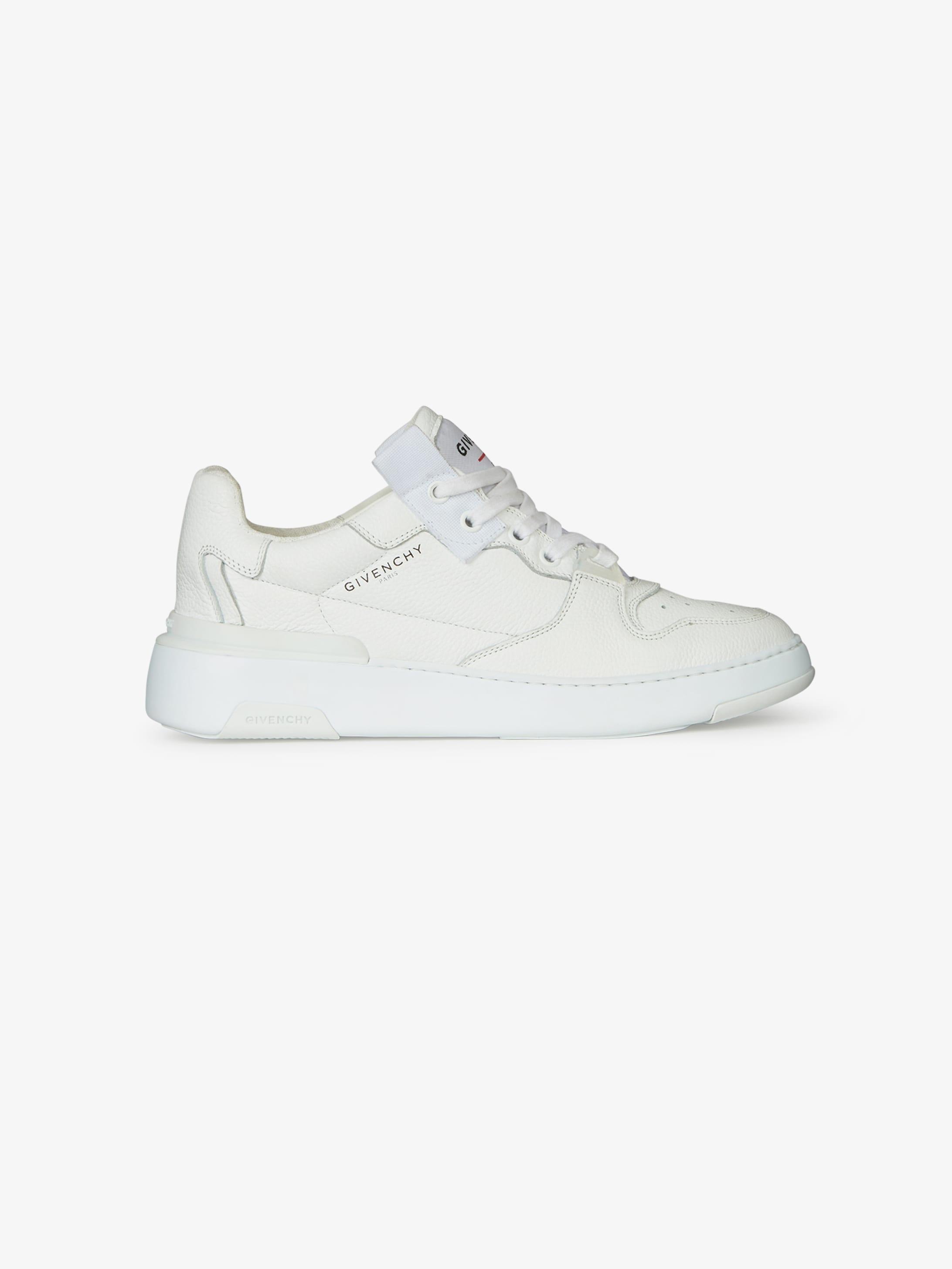 Sneakers basses Wing en cuir