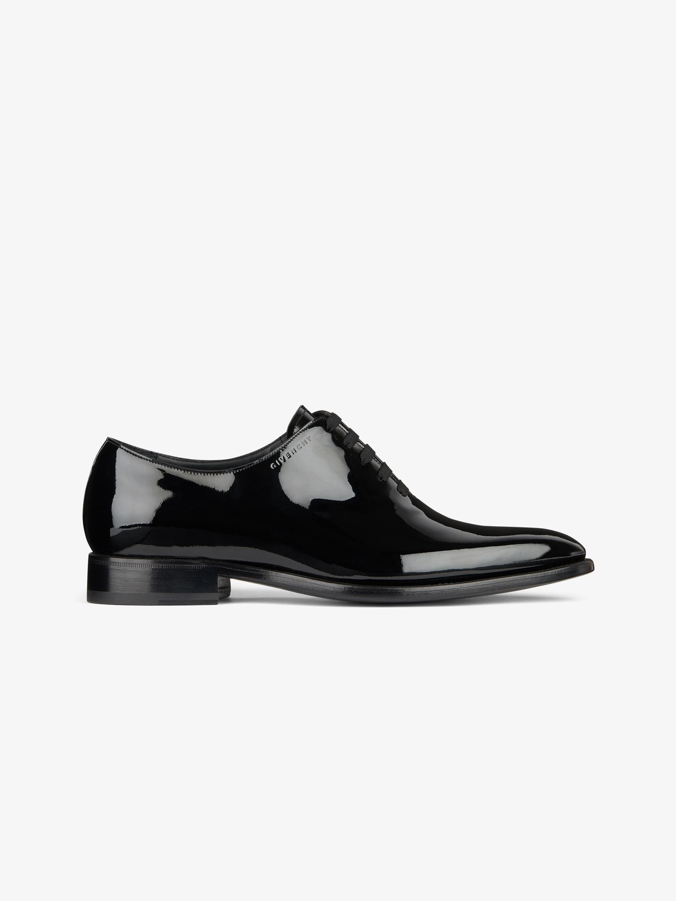 闪亮皮革牛津鞋