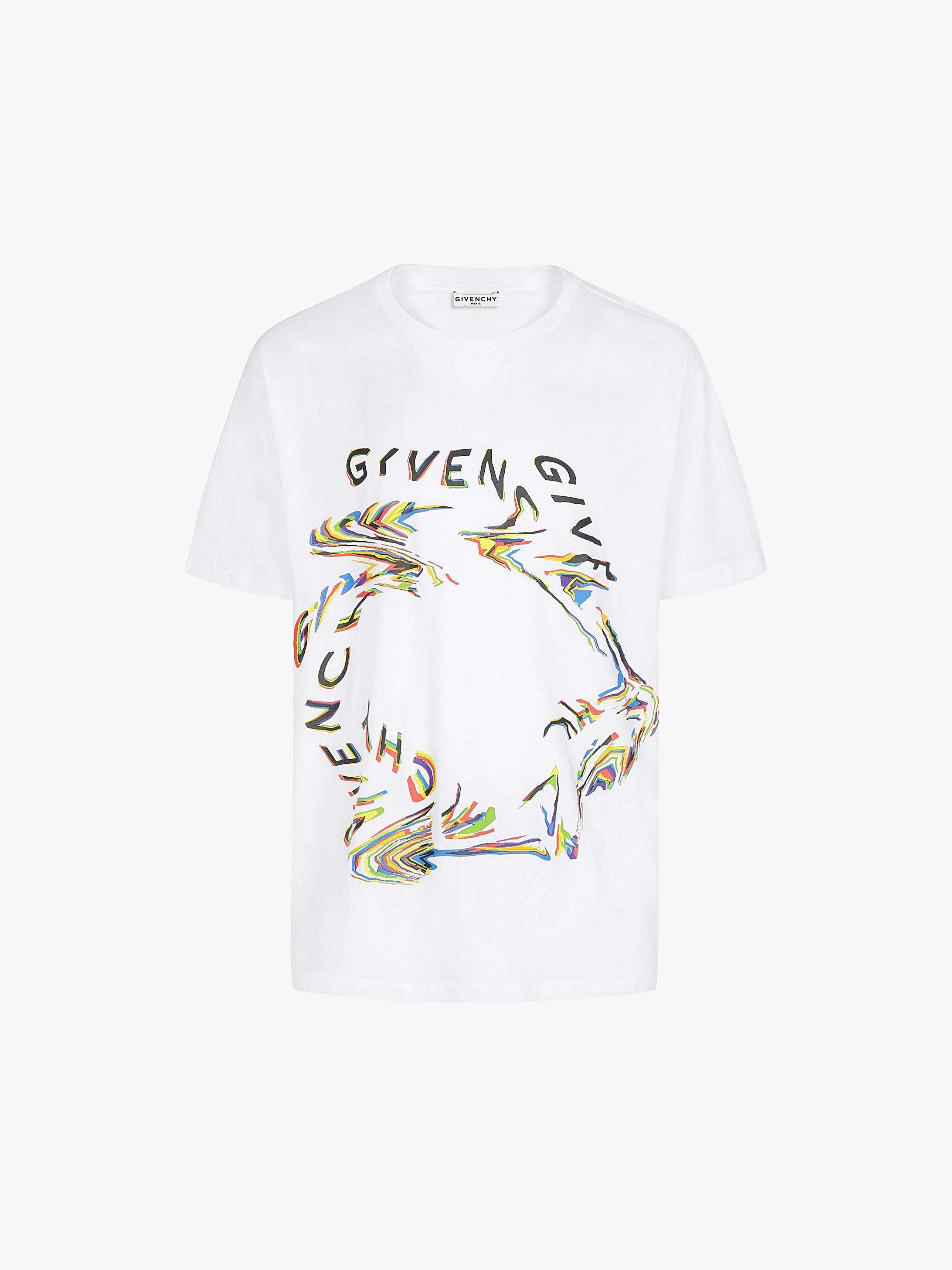 GIVENCHY Glitch printed t-shirt
