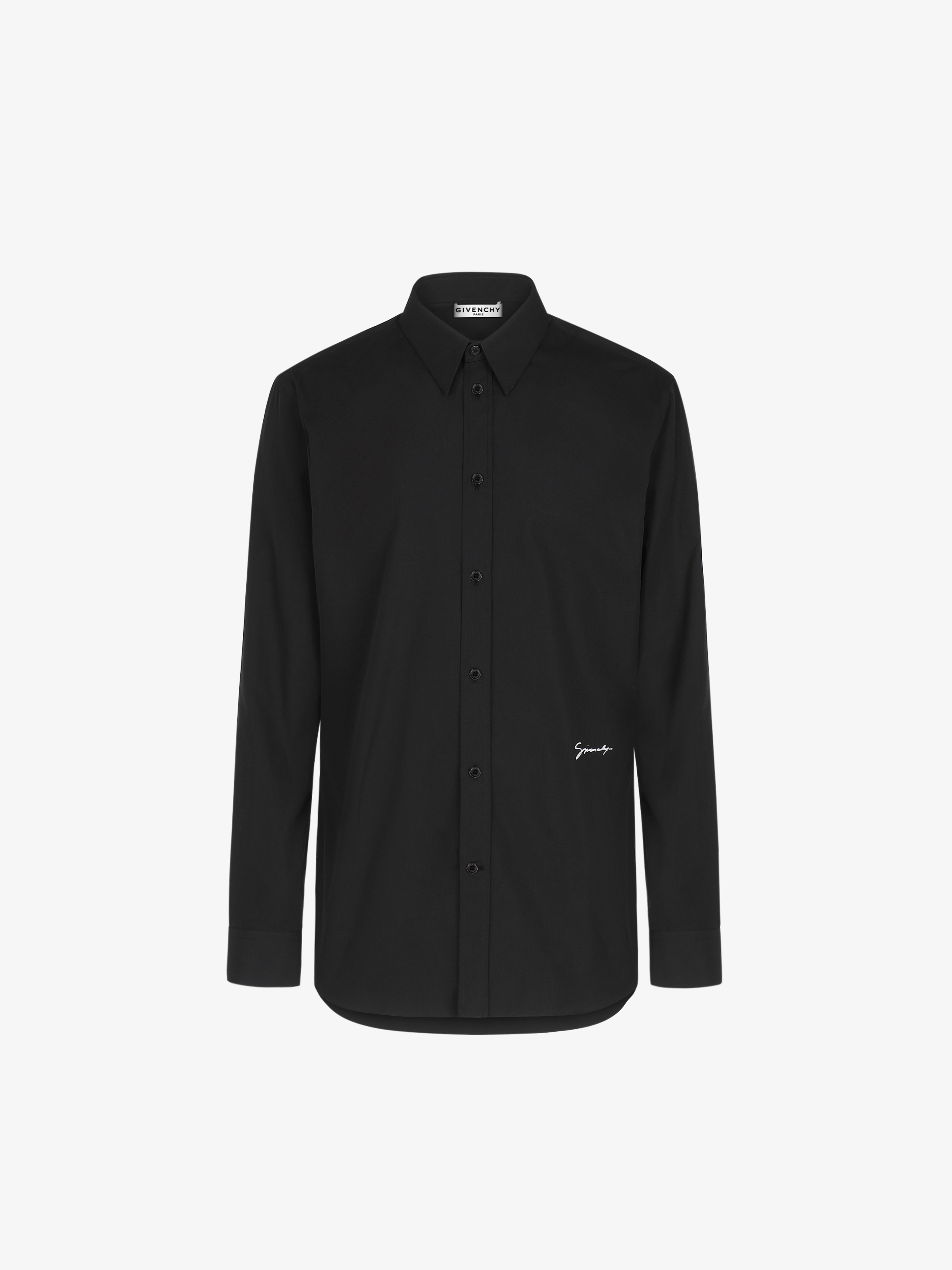 Givenchy embroidered shirt in coton