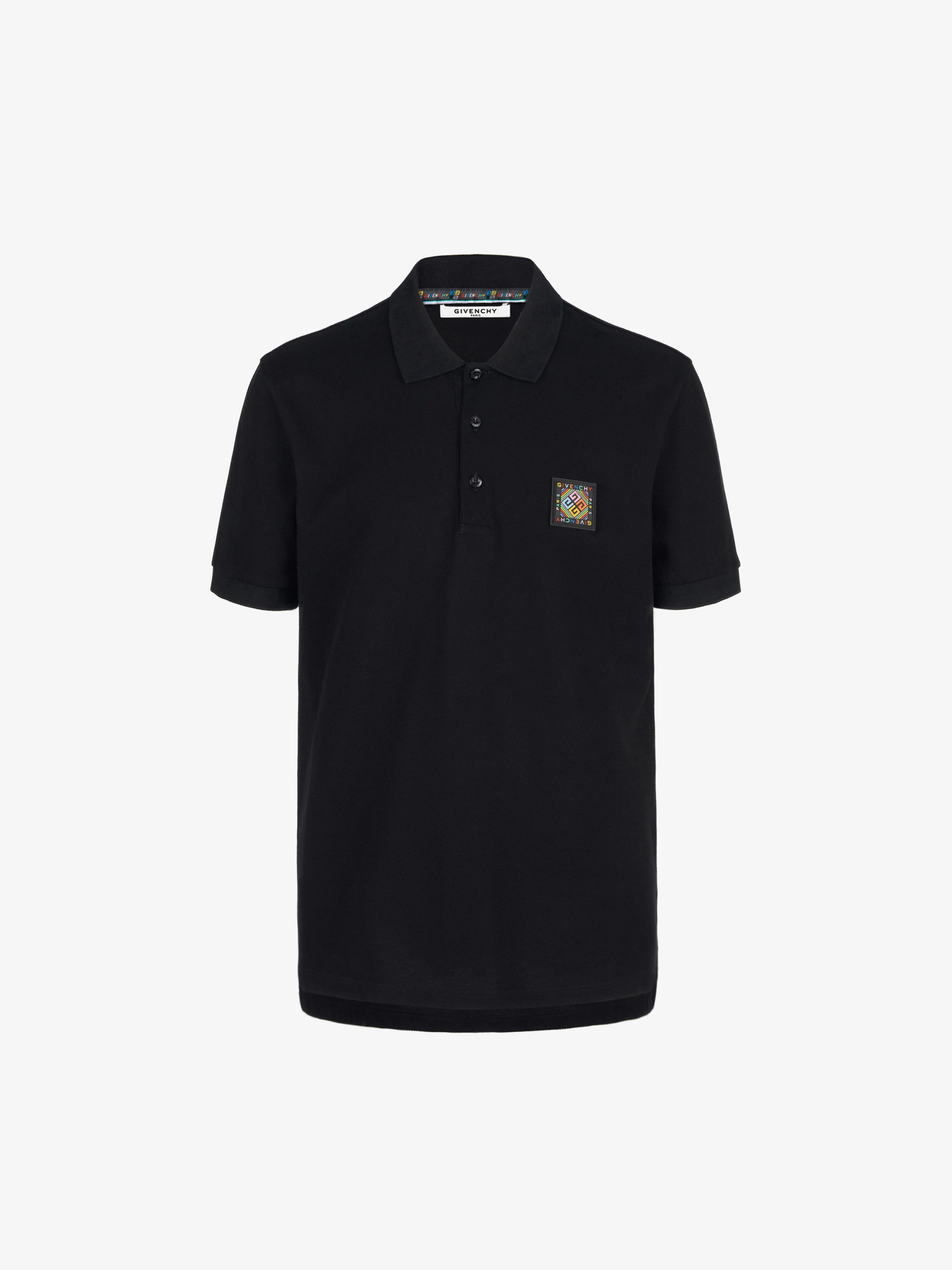 GIVENCHY 4G patch polo shirt