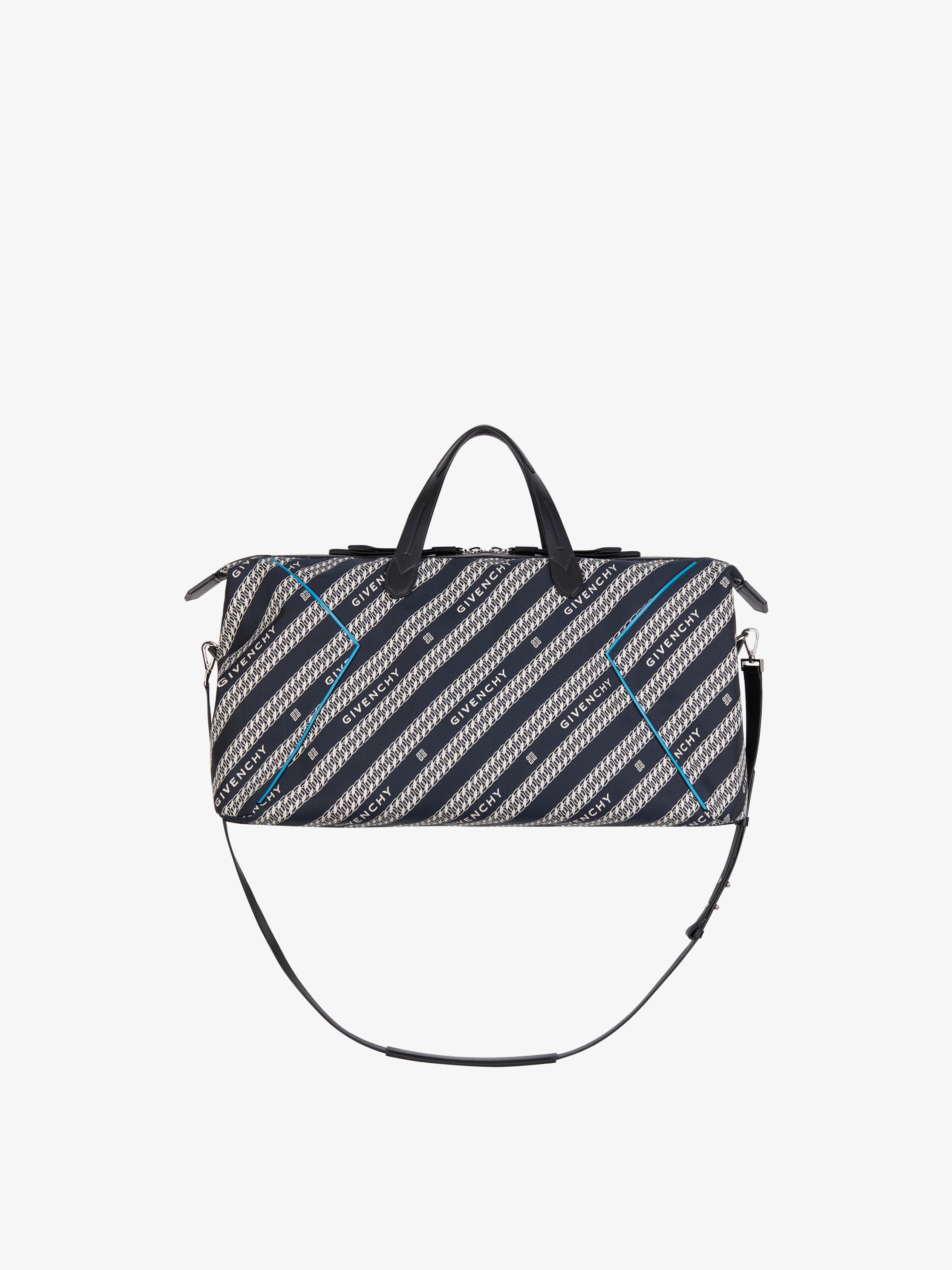 GIVENCHY Bond weekender bag in jacquard