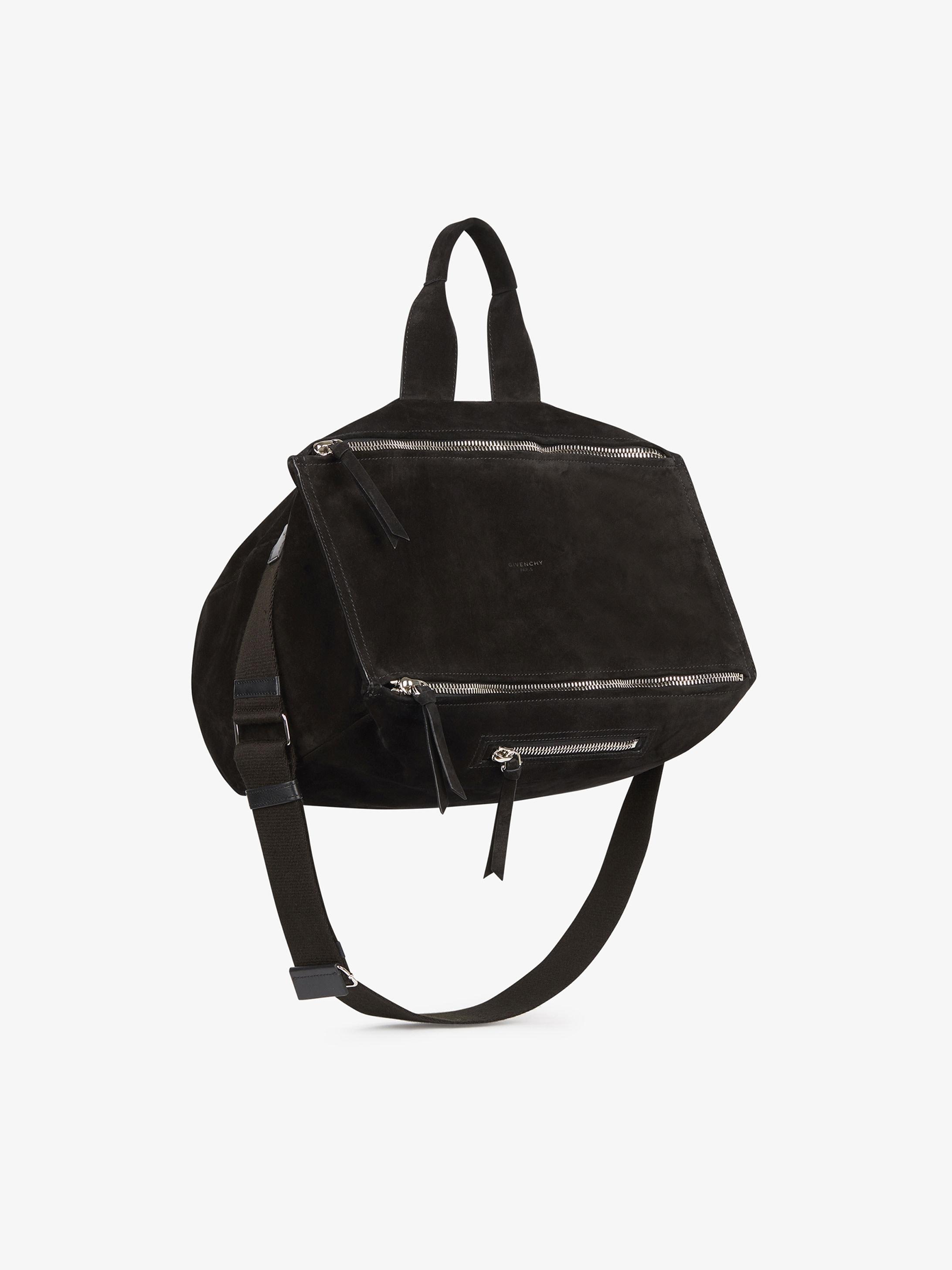 Pandora messenger bag in suede
