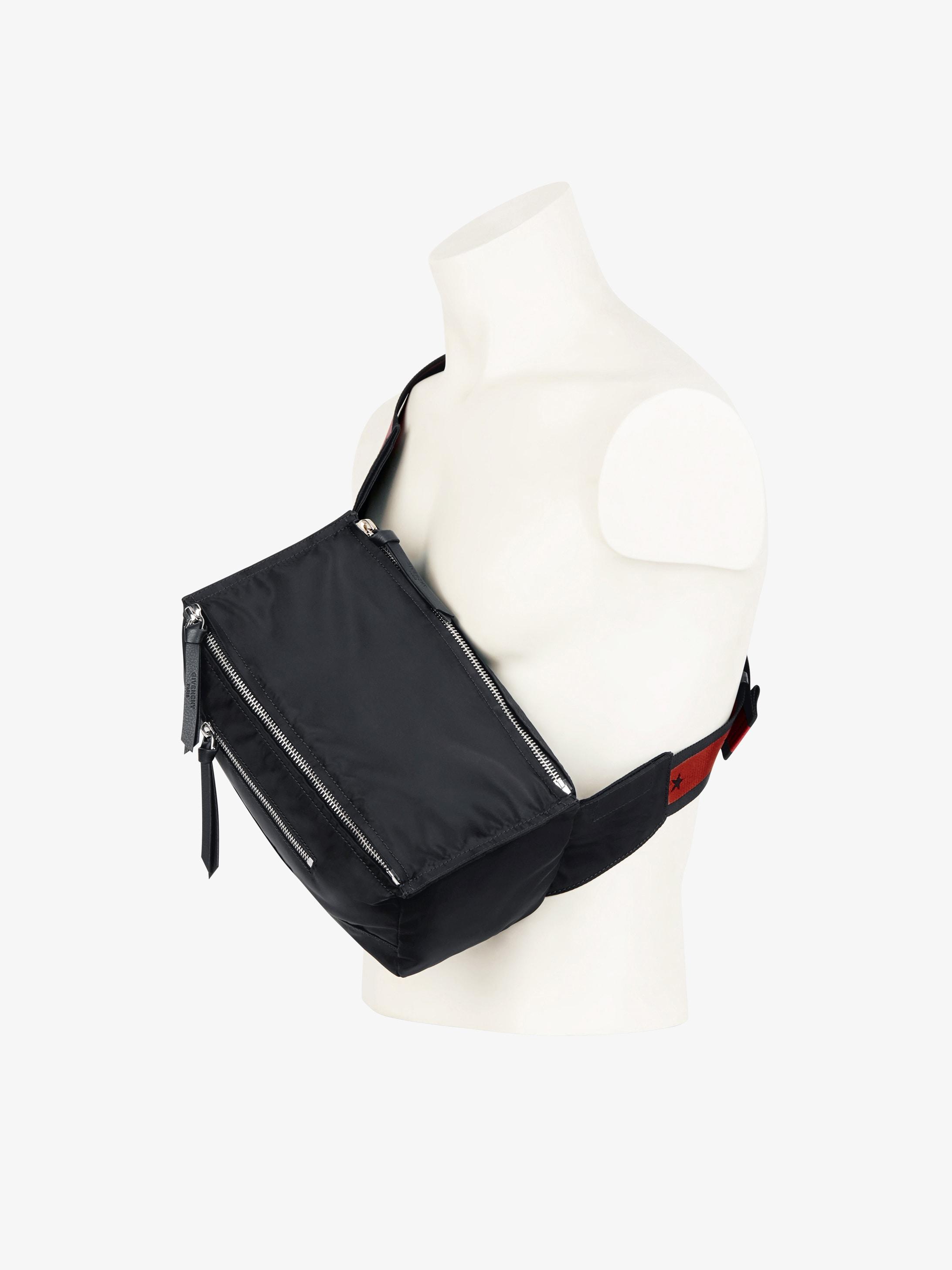 Pandora bum bag with stars tape strap