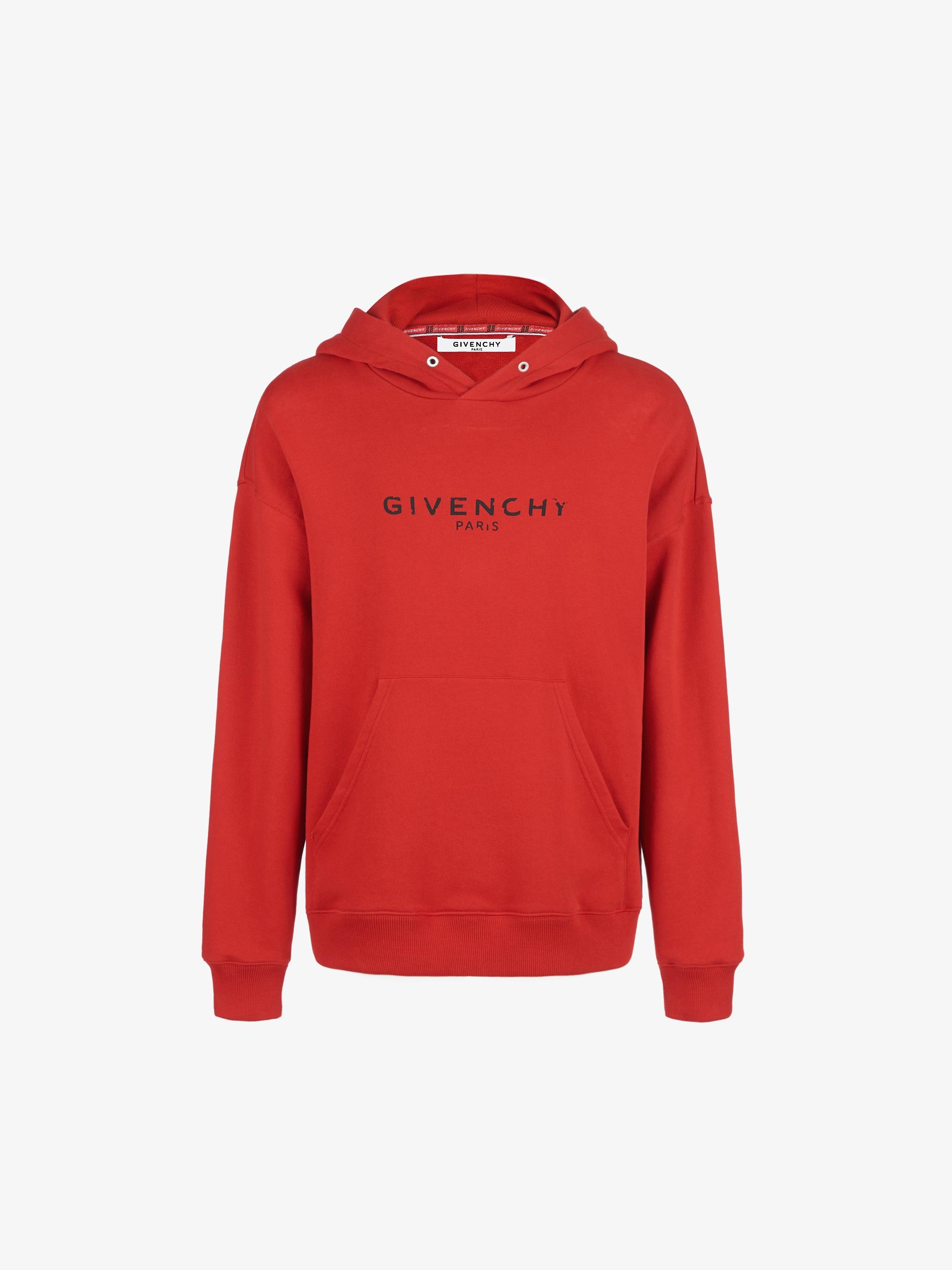 Sweatshirt à capuche GIVENCHY PARIS