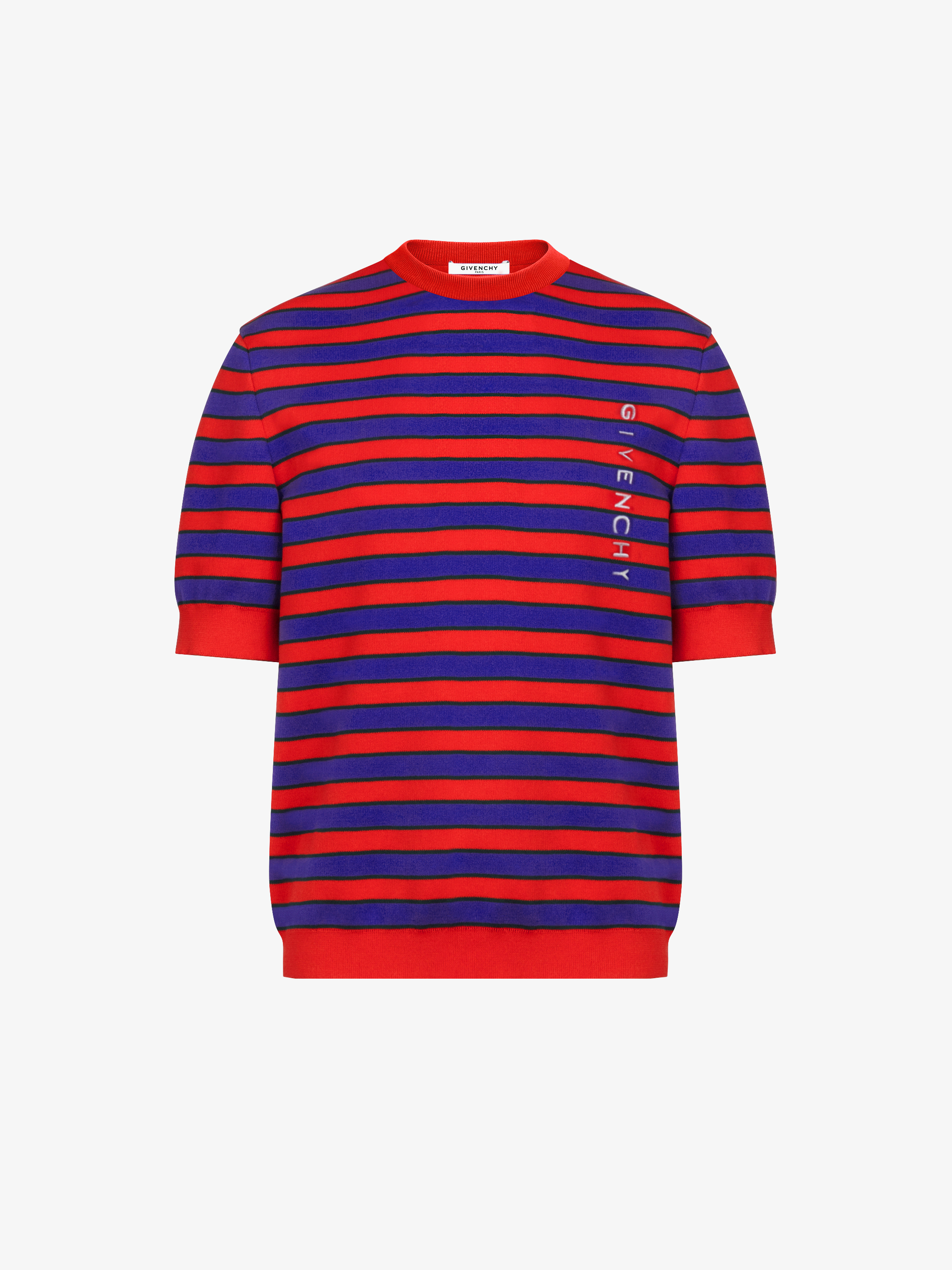 GIVENCHY striped knitted top