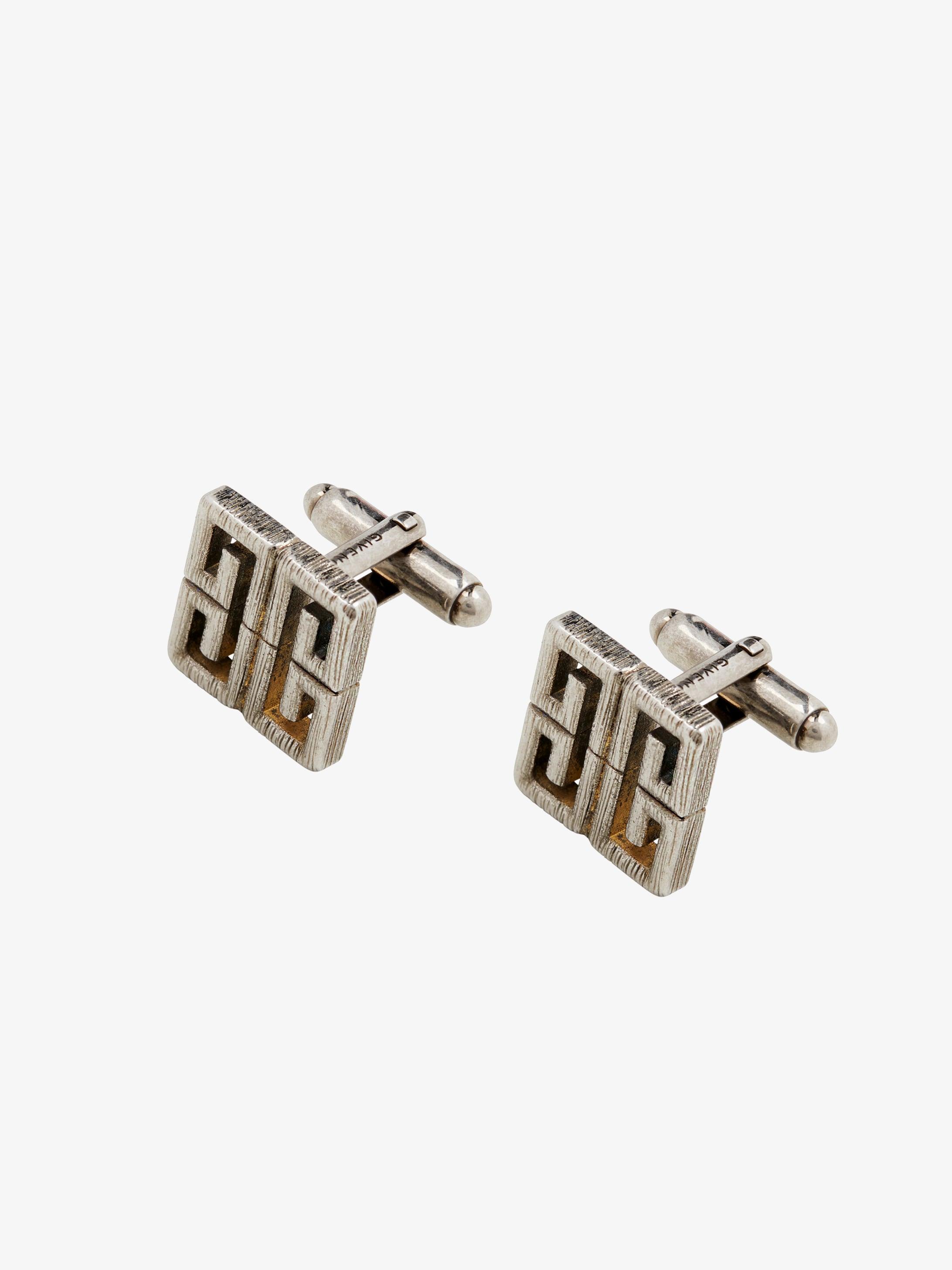 4G brass cufflinks