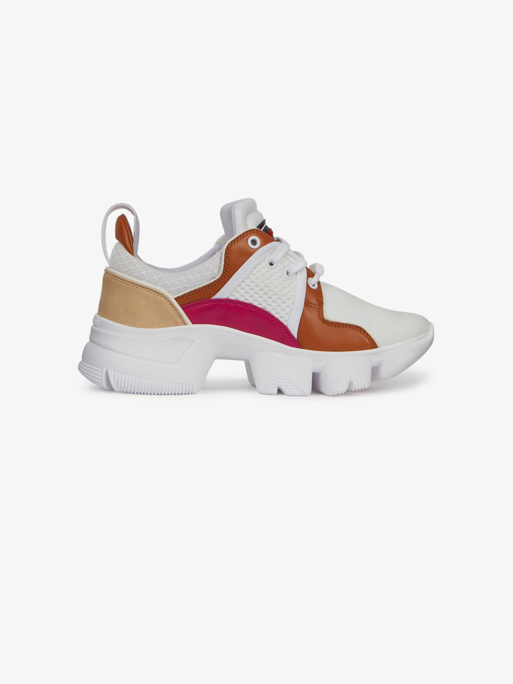 Low JAW sneakers in neoprene and leather