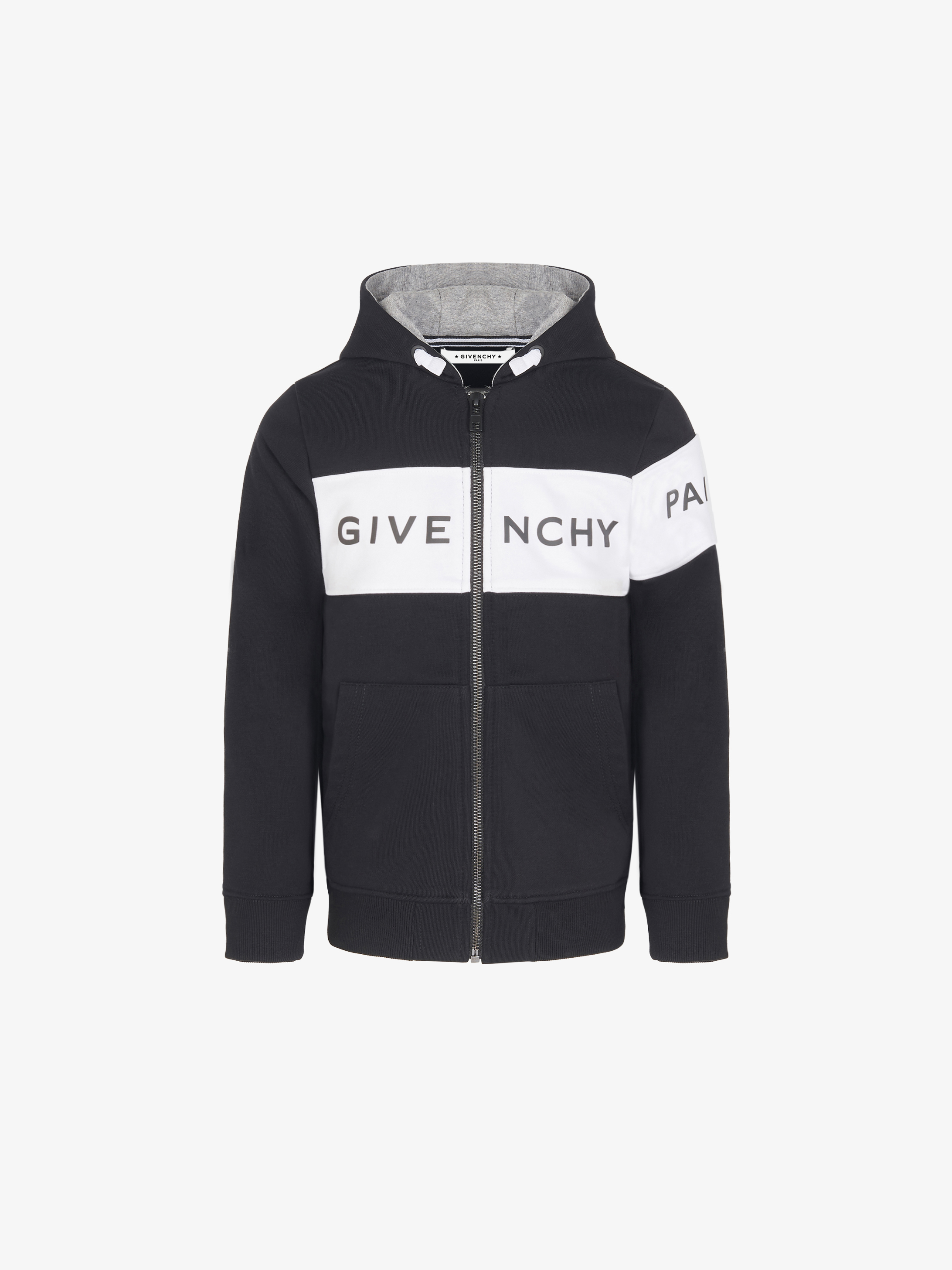 GIVENCHY zipped hoodie