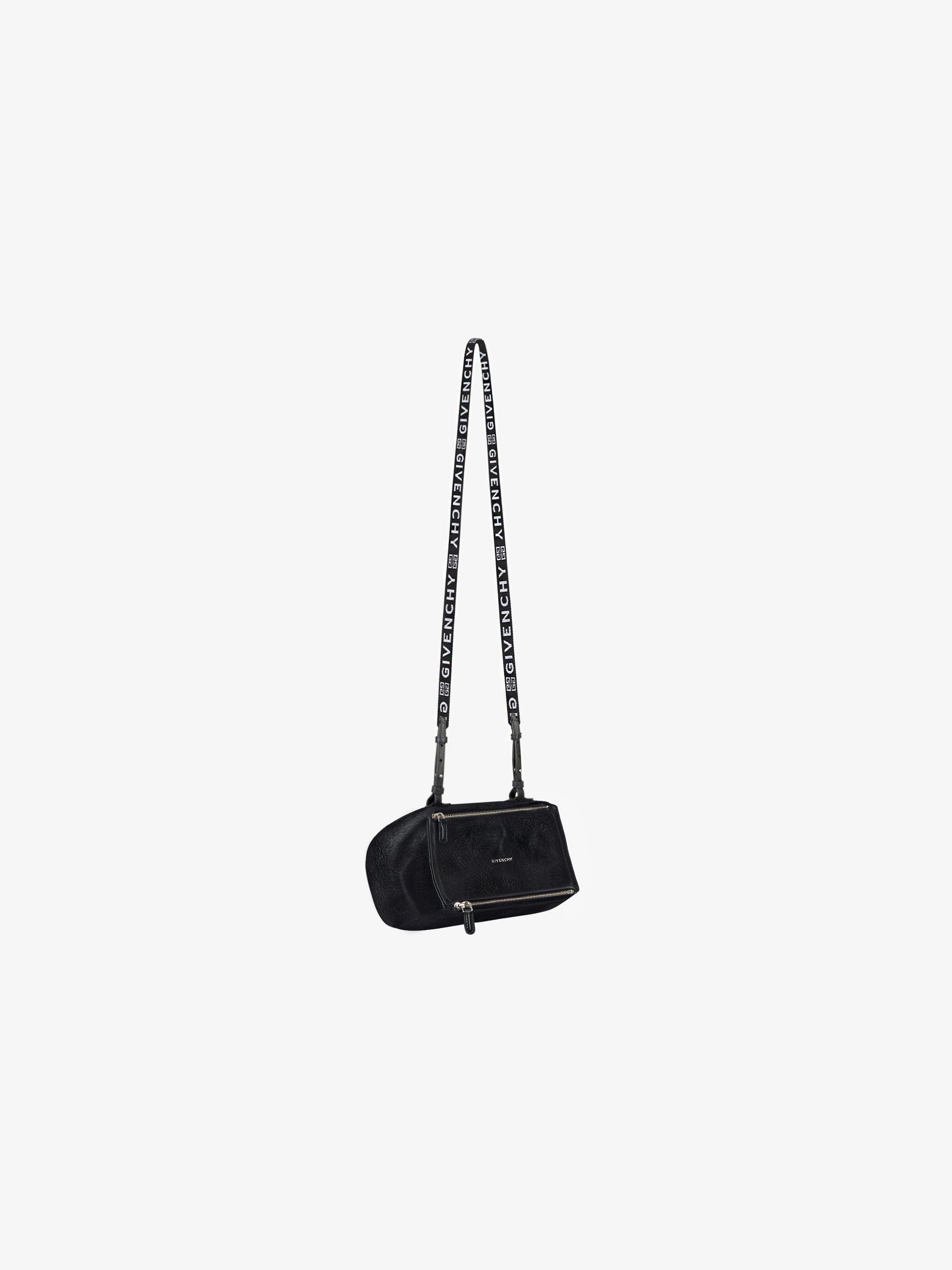 Mini Pandora Bag in patent leather with 4G strap