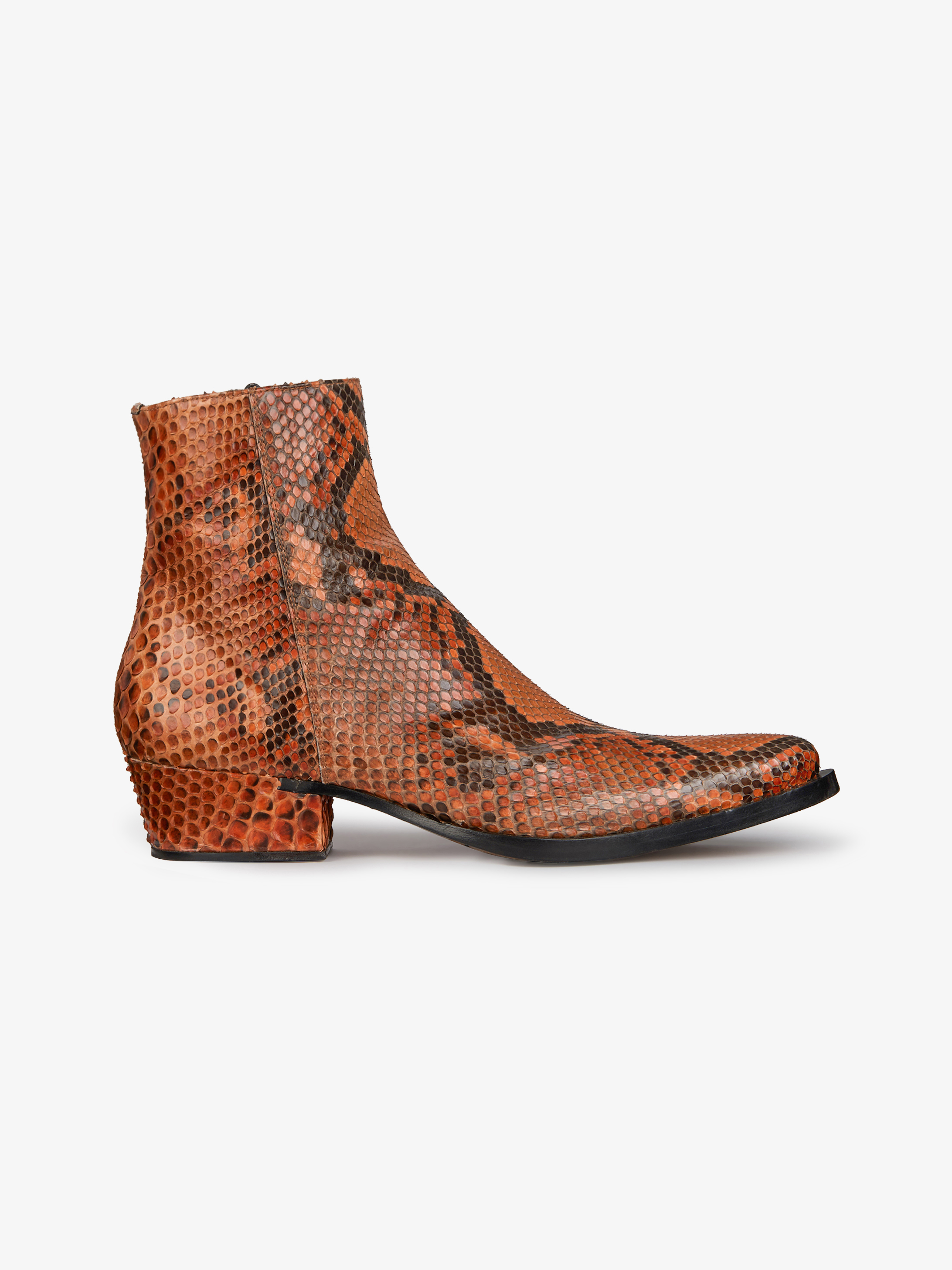 Pointed boots in python