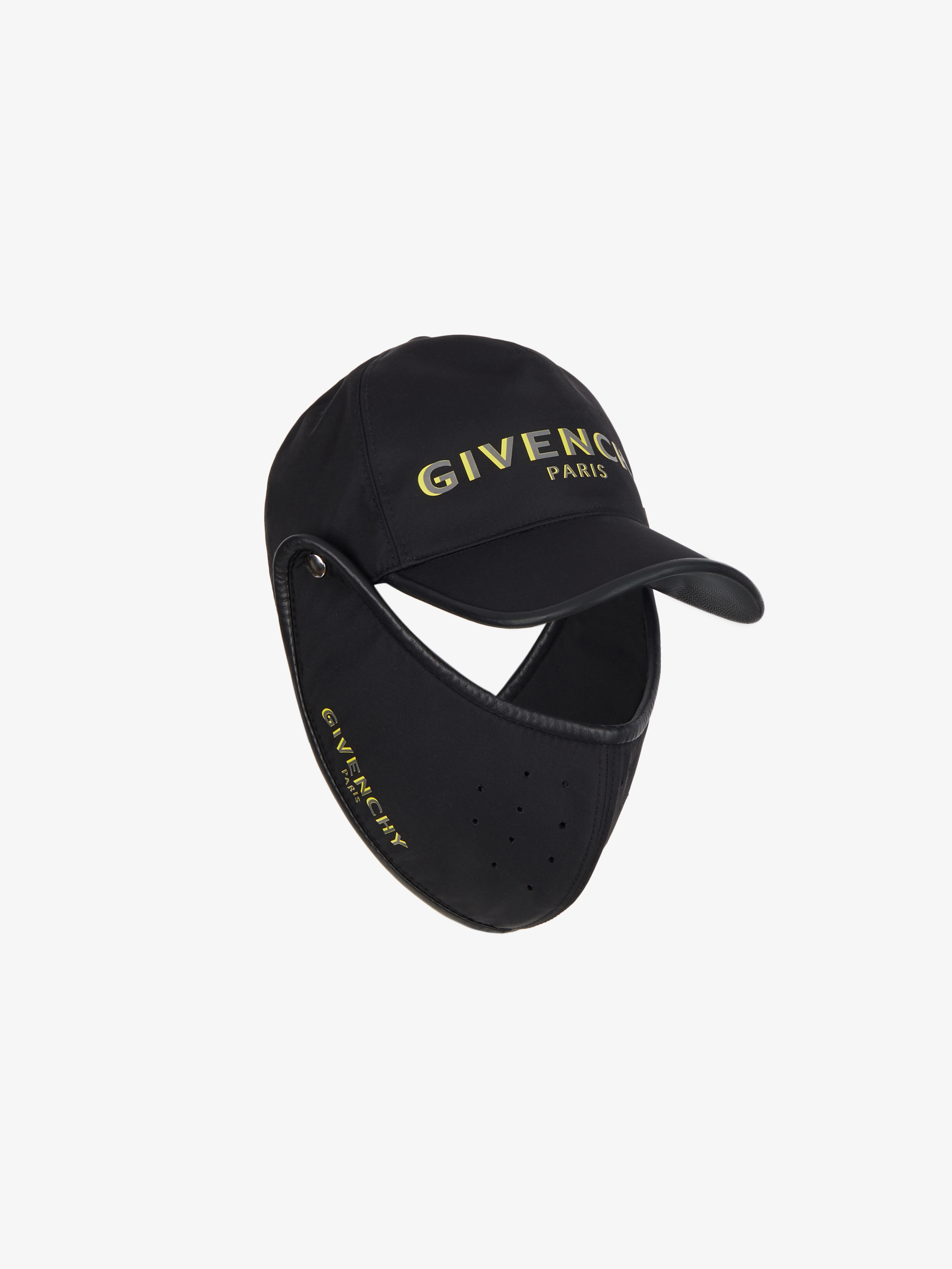 GIVENCHY PARIS cap with mask