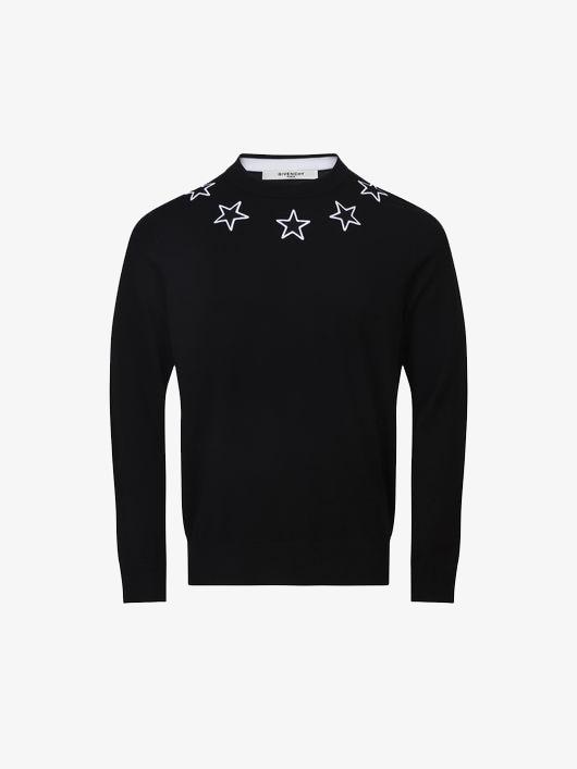 13e16e37eb98 Givenchy Contrasting stars jumper