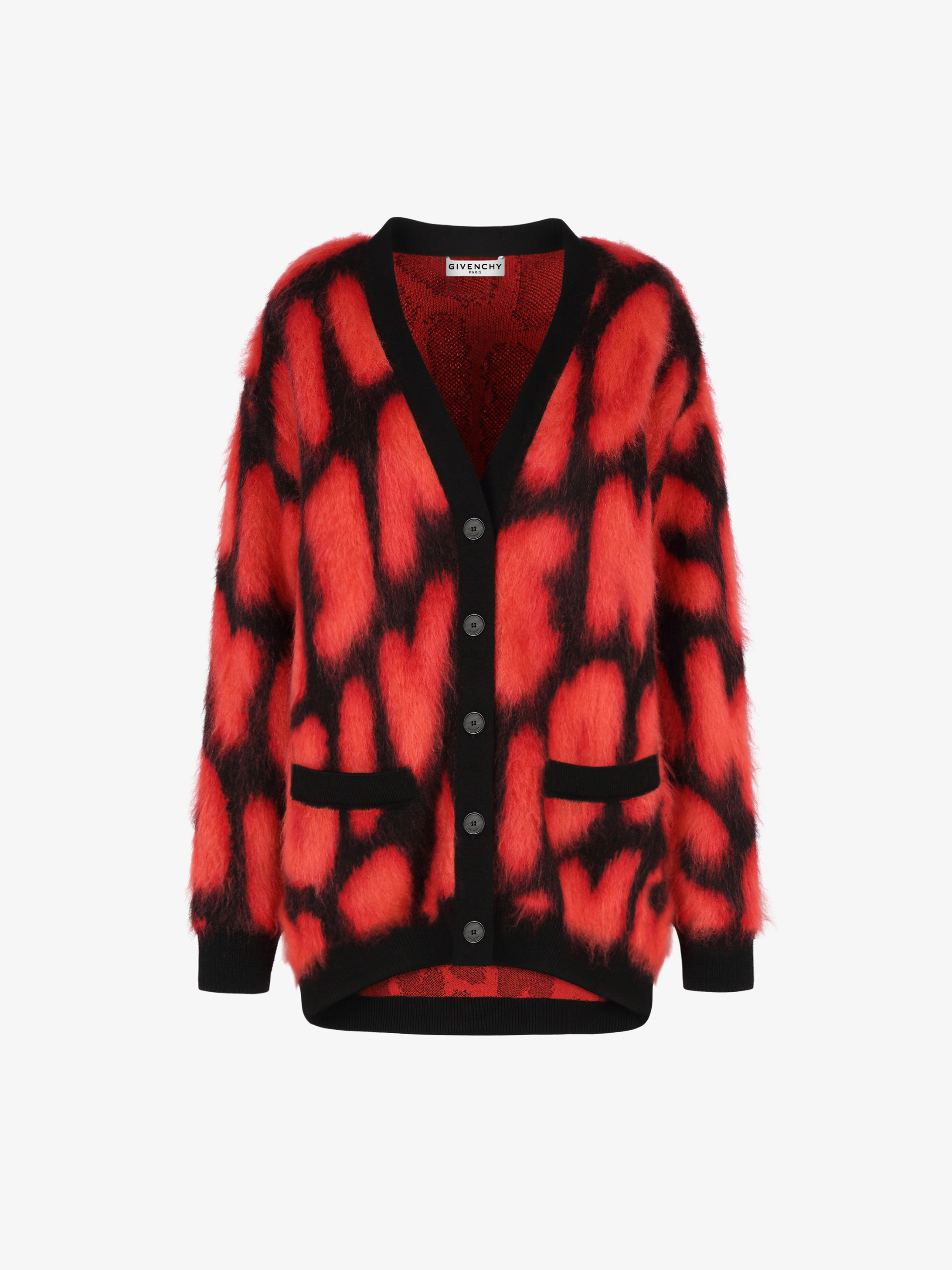 GIVENCHY cardigan in wool and mohair