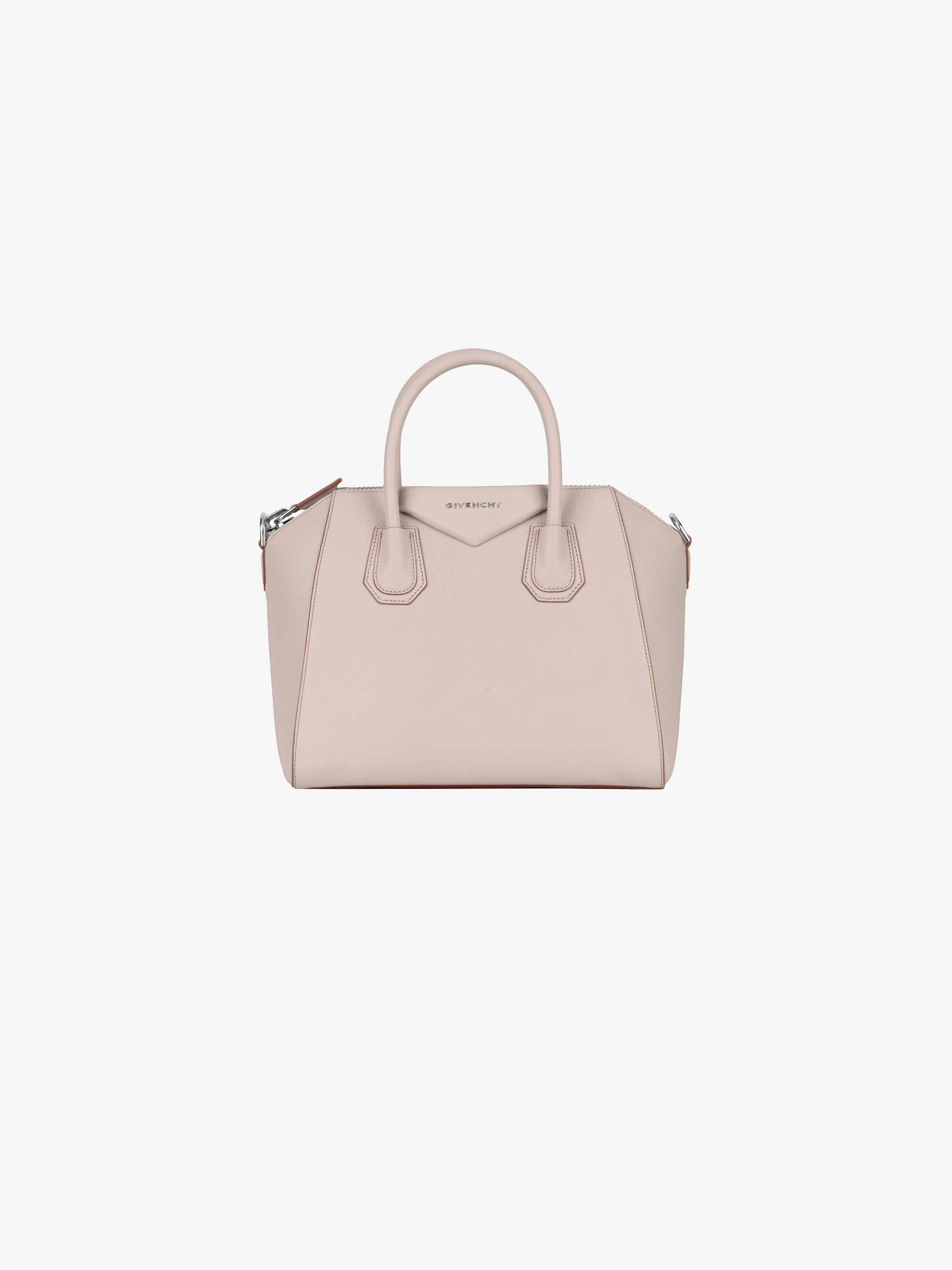 Small Antigona bag in grained leather