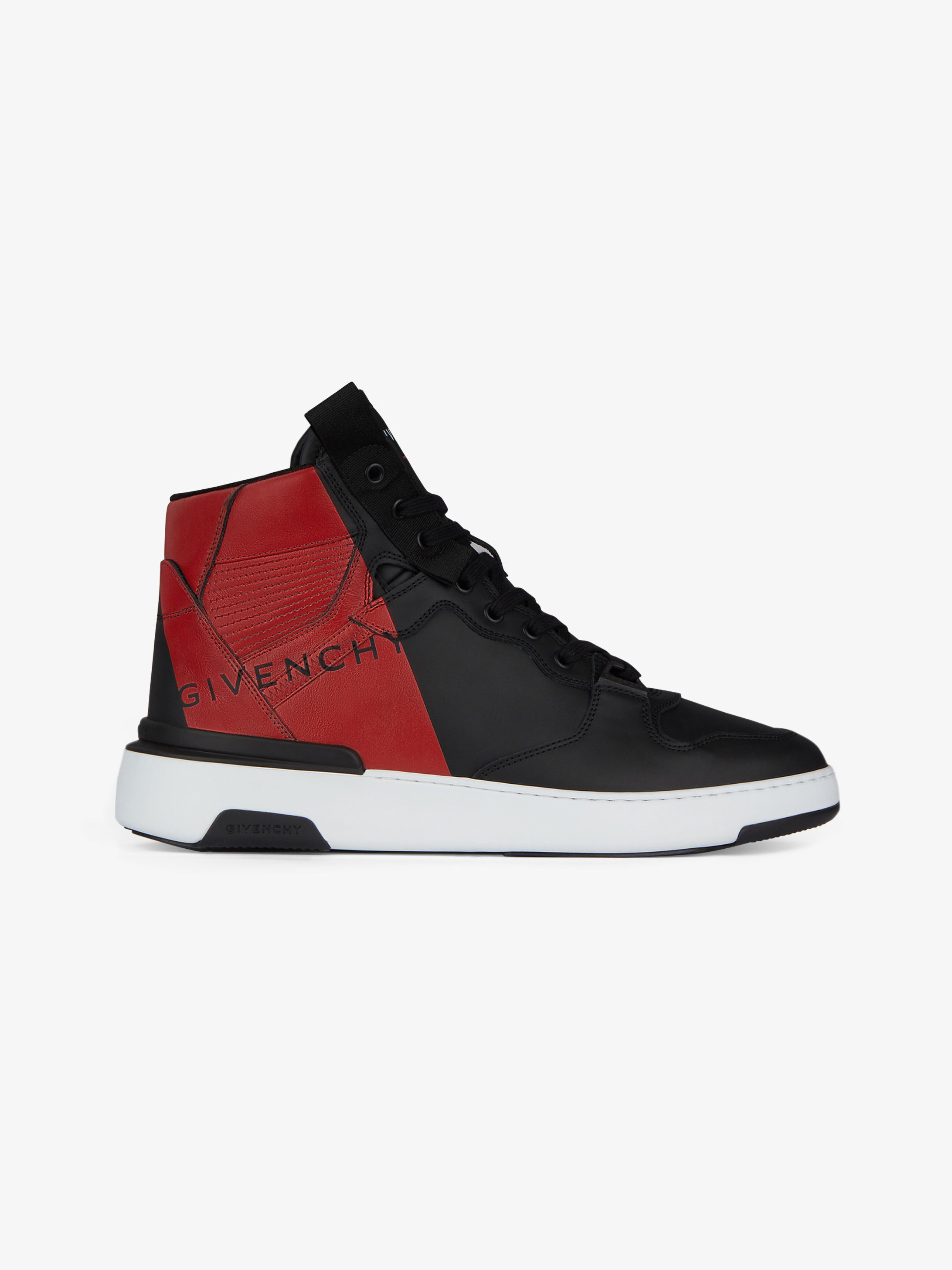Sneakers montantes Wing GIVENCHY en cuir