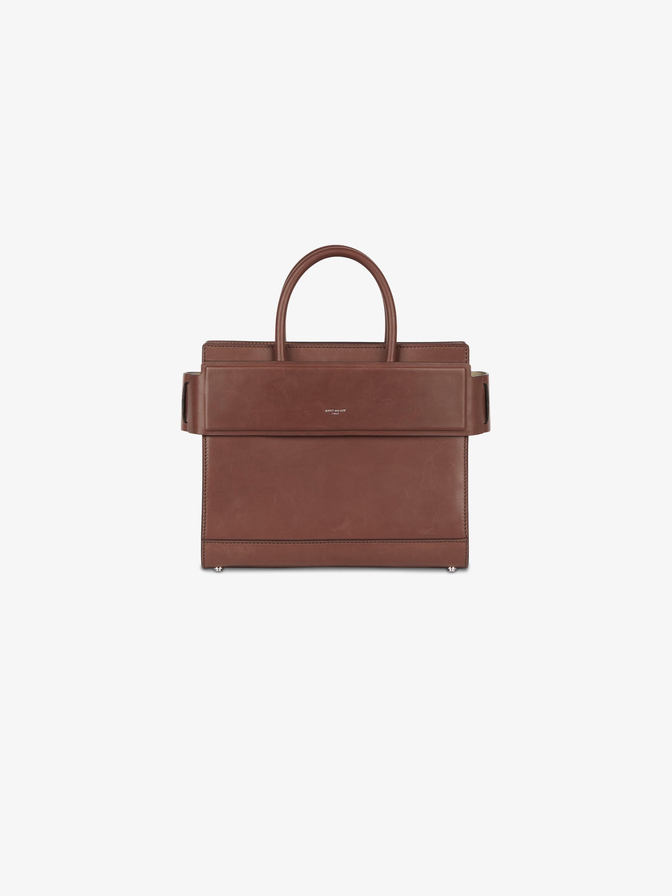 Small Horizon bag in semi-vegetal leather