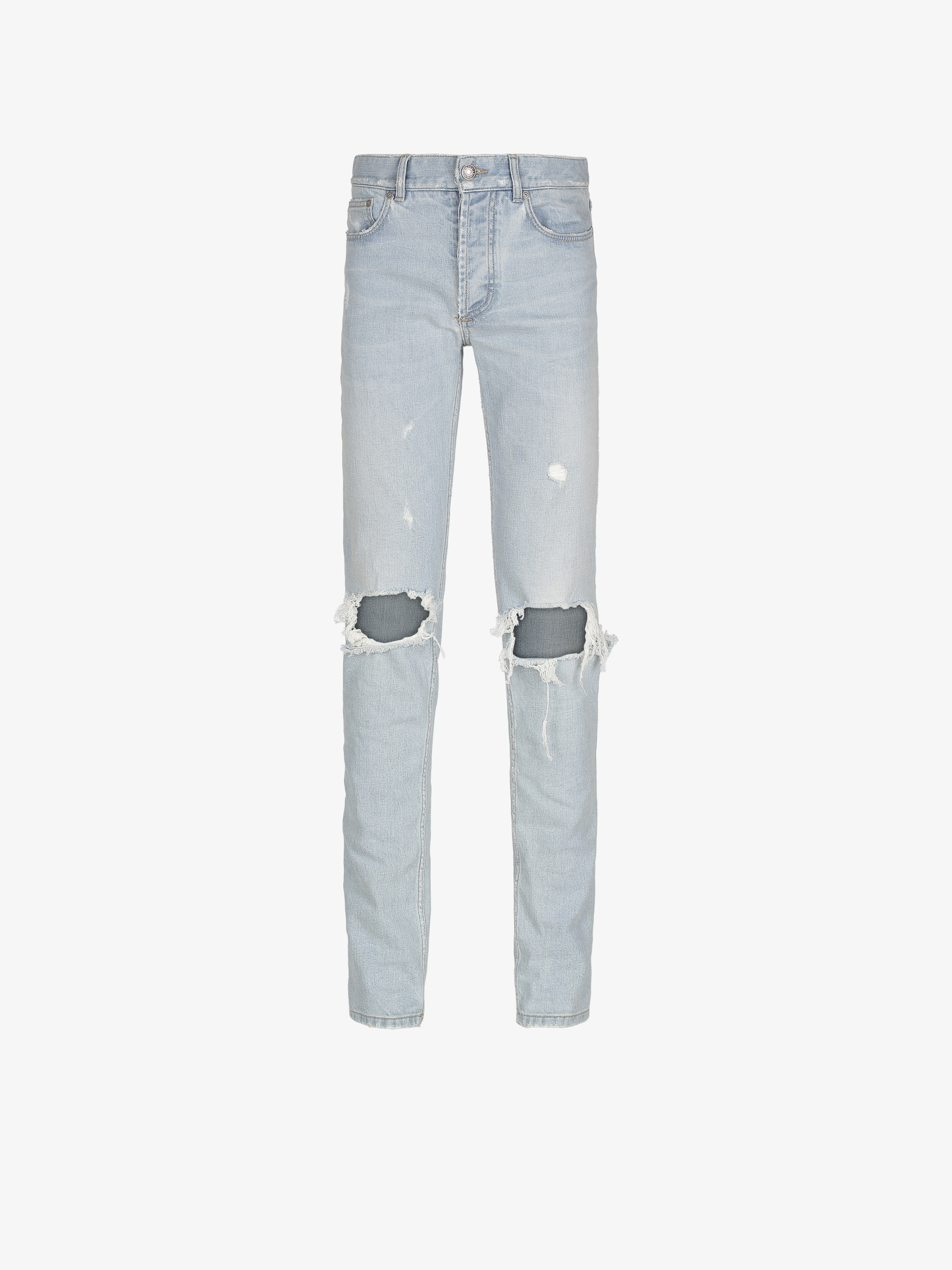 GIVENCHY destroyed jean slim