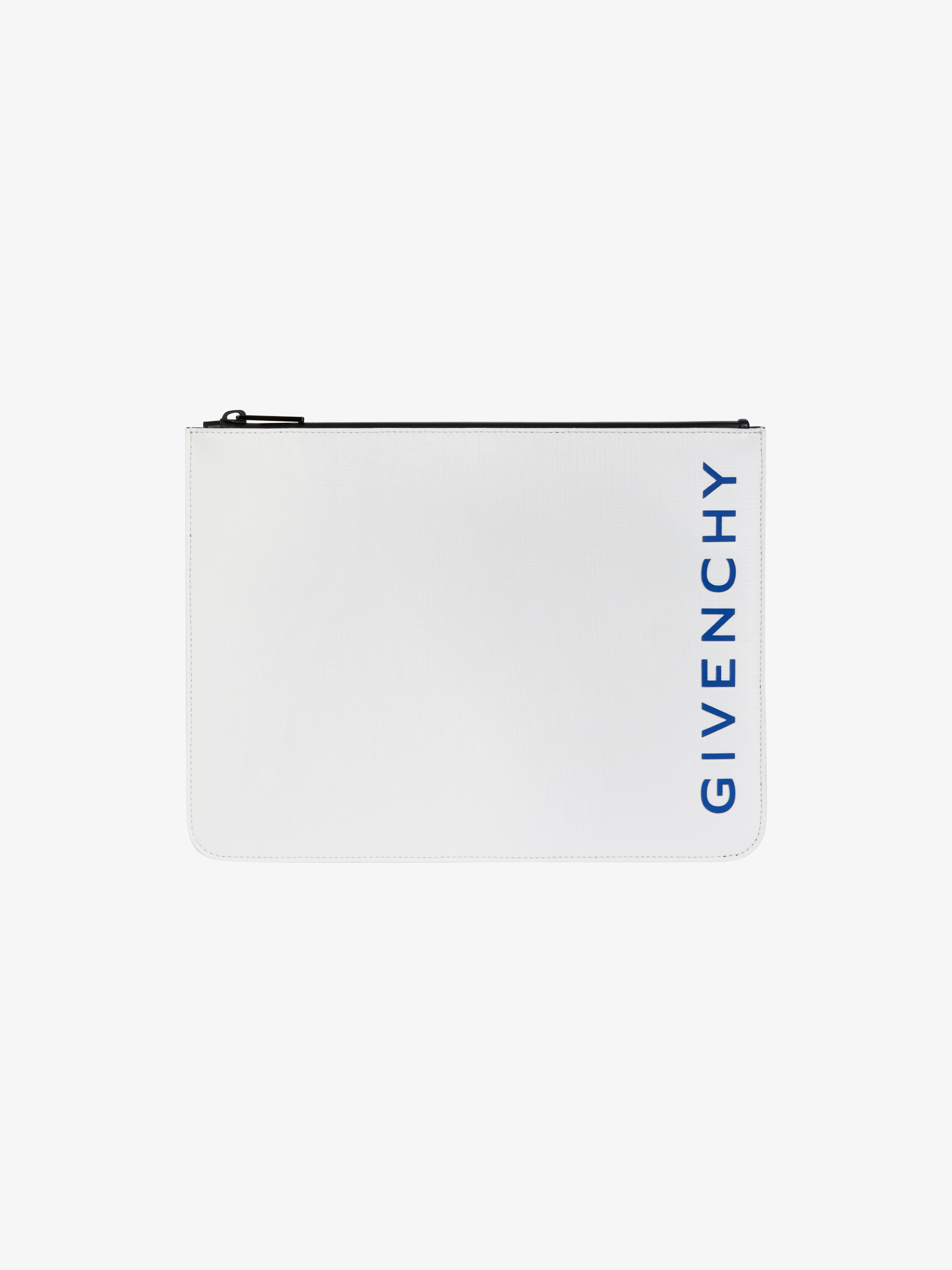 GIVENCHY large zipped pouch in coated canvas