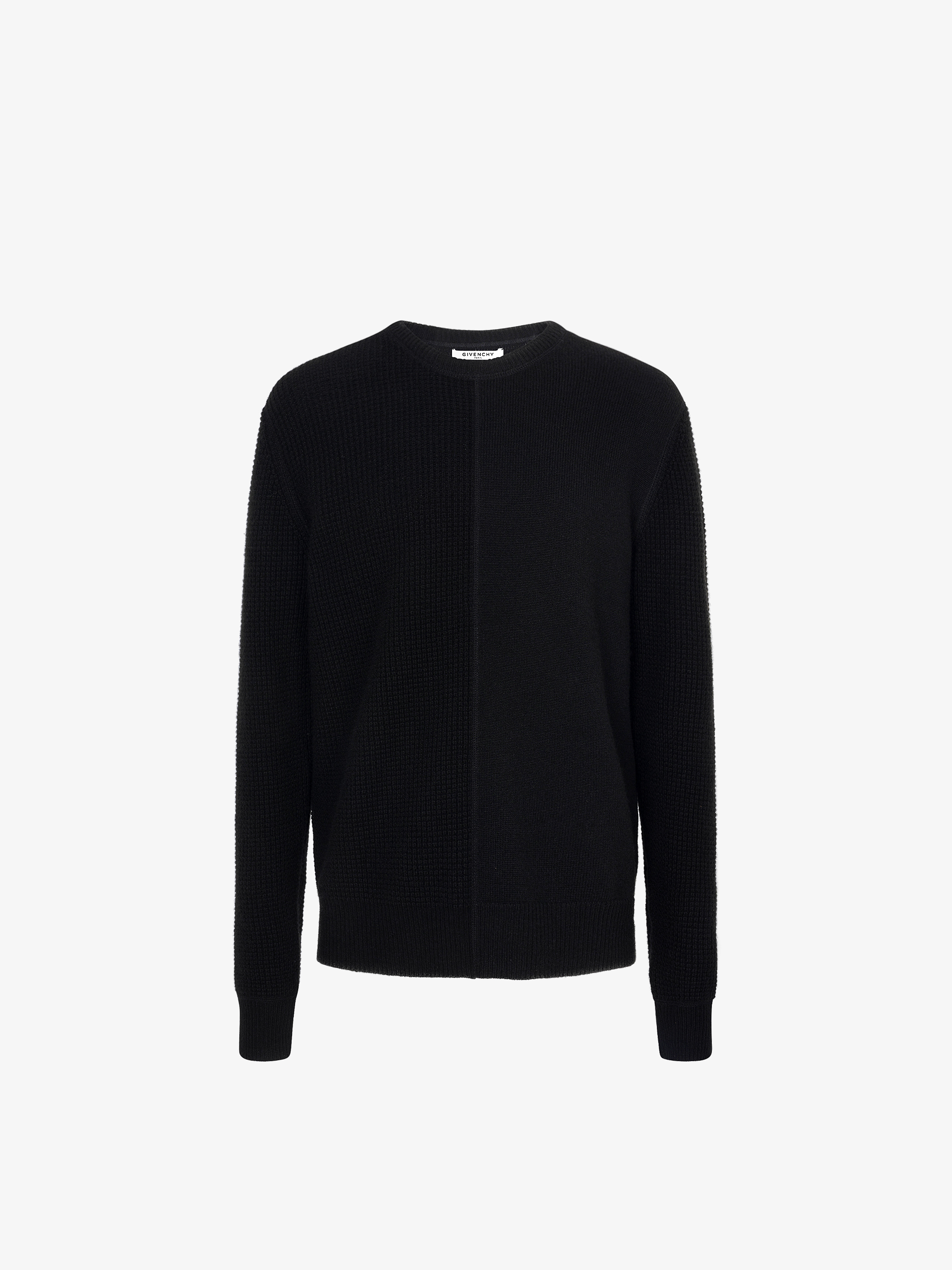 GIVENCHY PARIS embroidered sweater in cashmere
