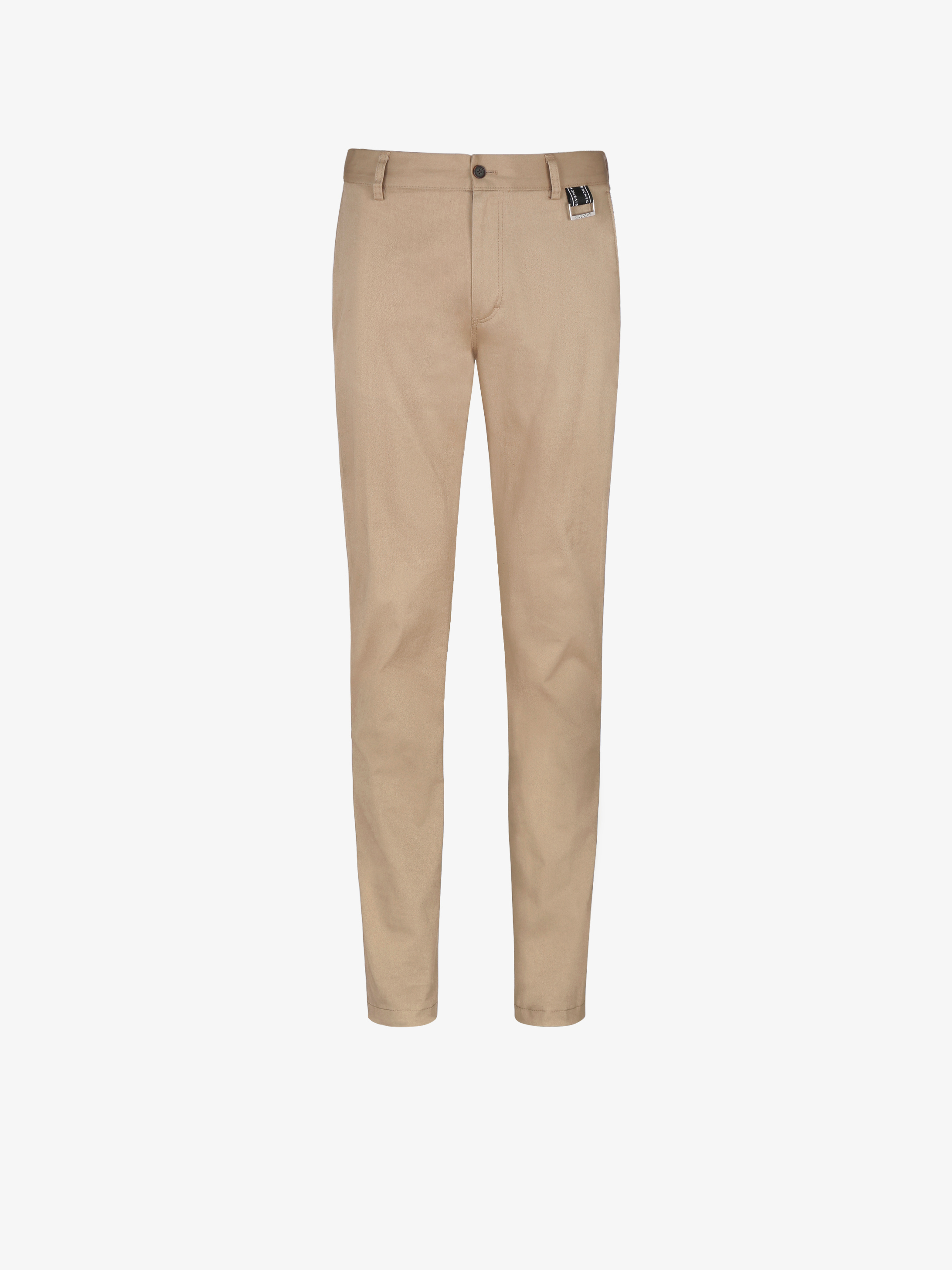 GIVENCHY band slim fit pants chino with buckle