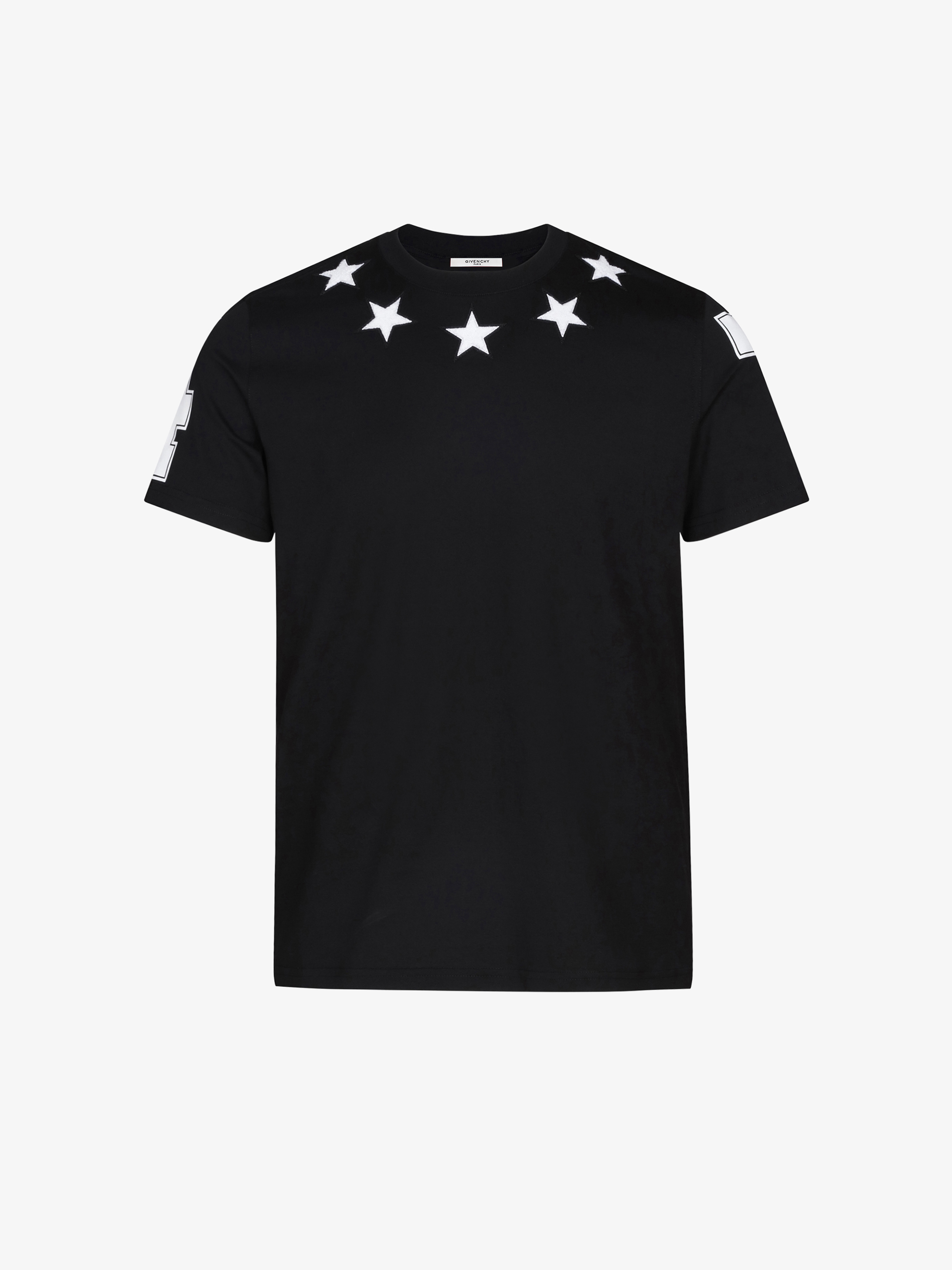 Stars and 74 details oversized t-shirt