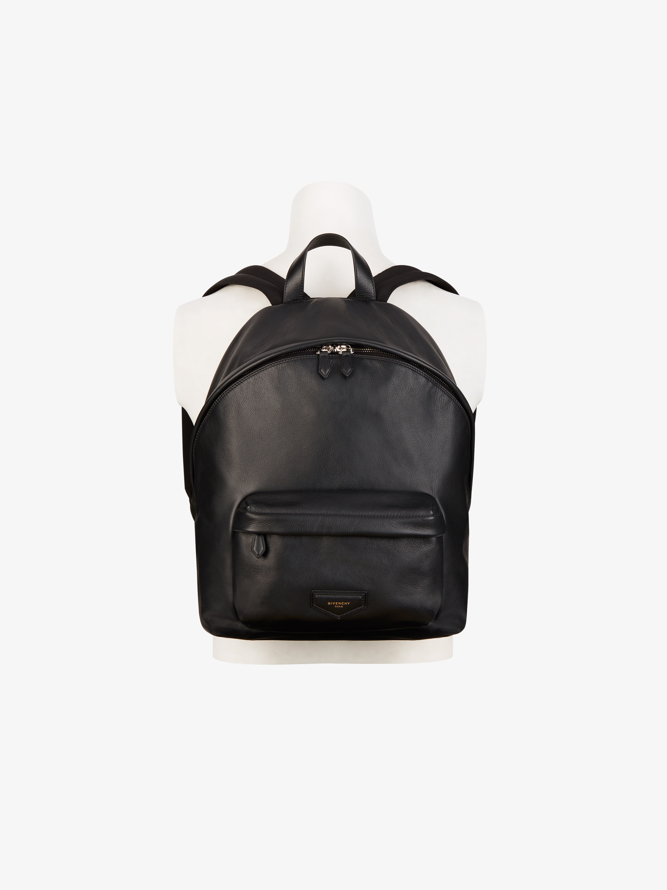 GIVENCHY patch leather backpack