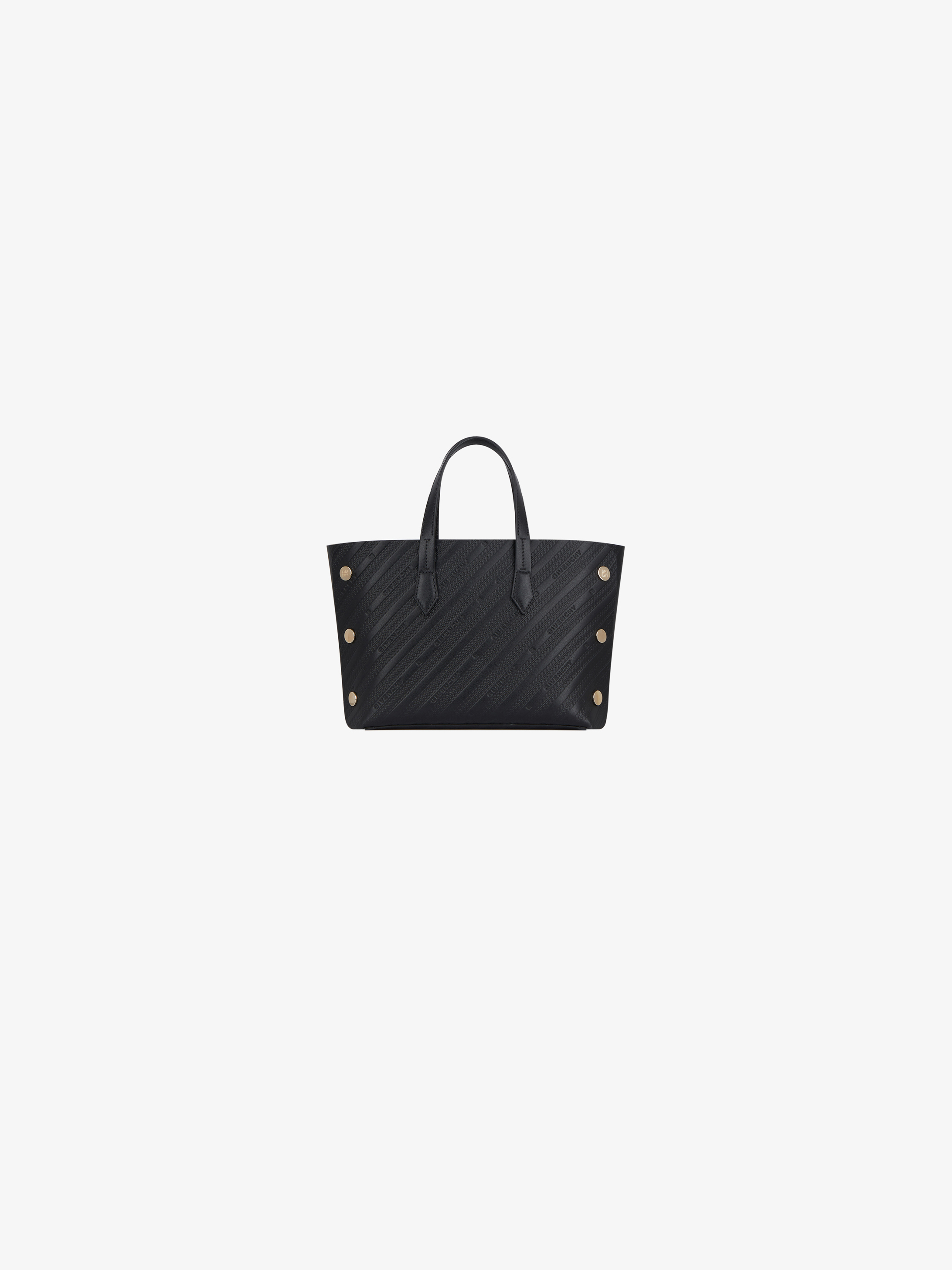 Mini BOND shopper in GIVENCHY chain embossed leather