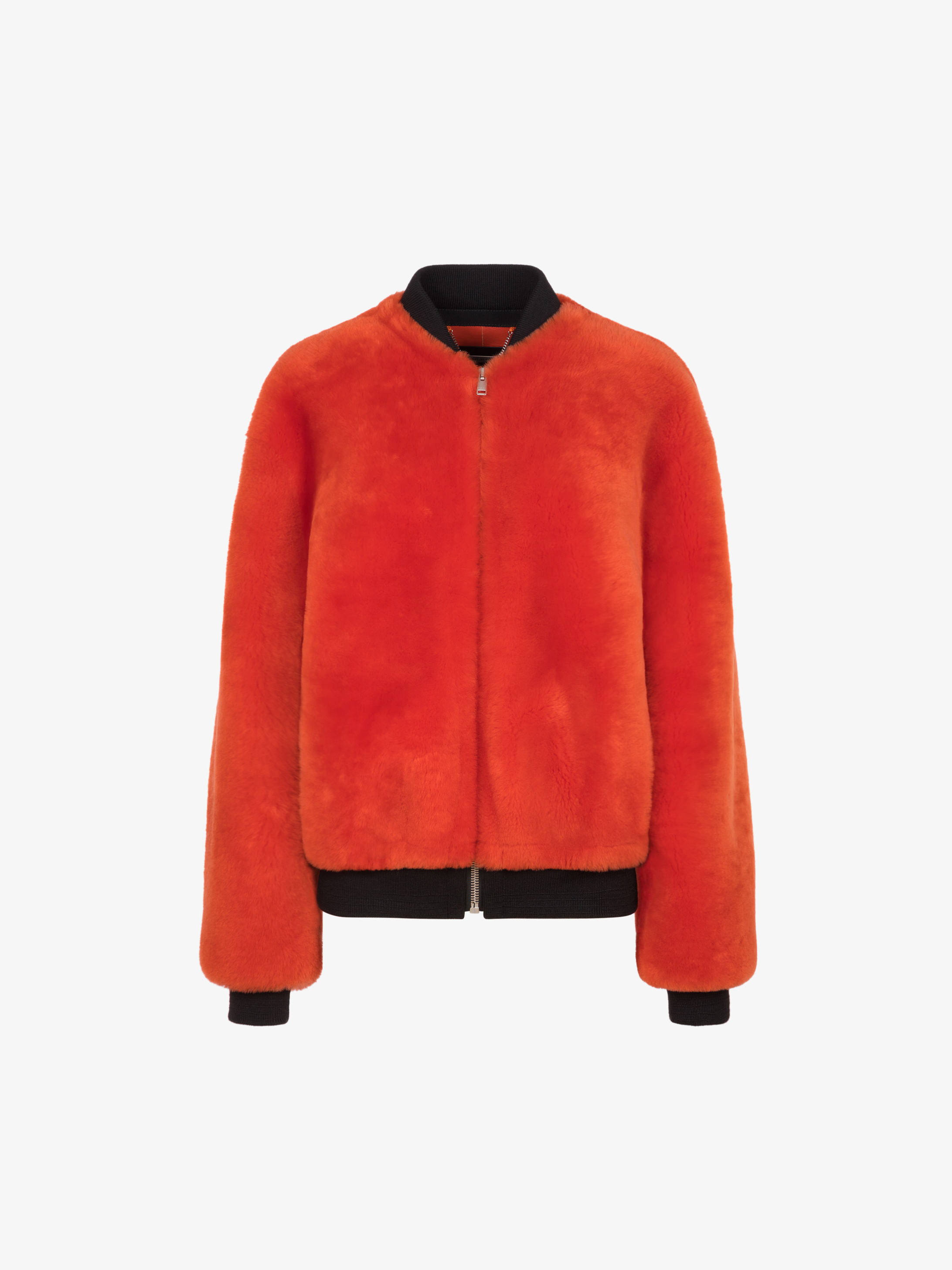 GIVENCHY address shearling bomber