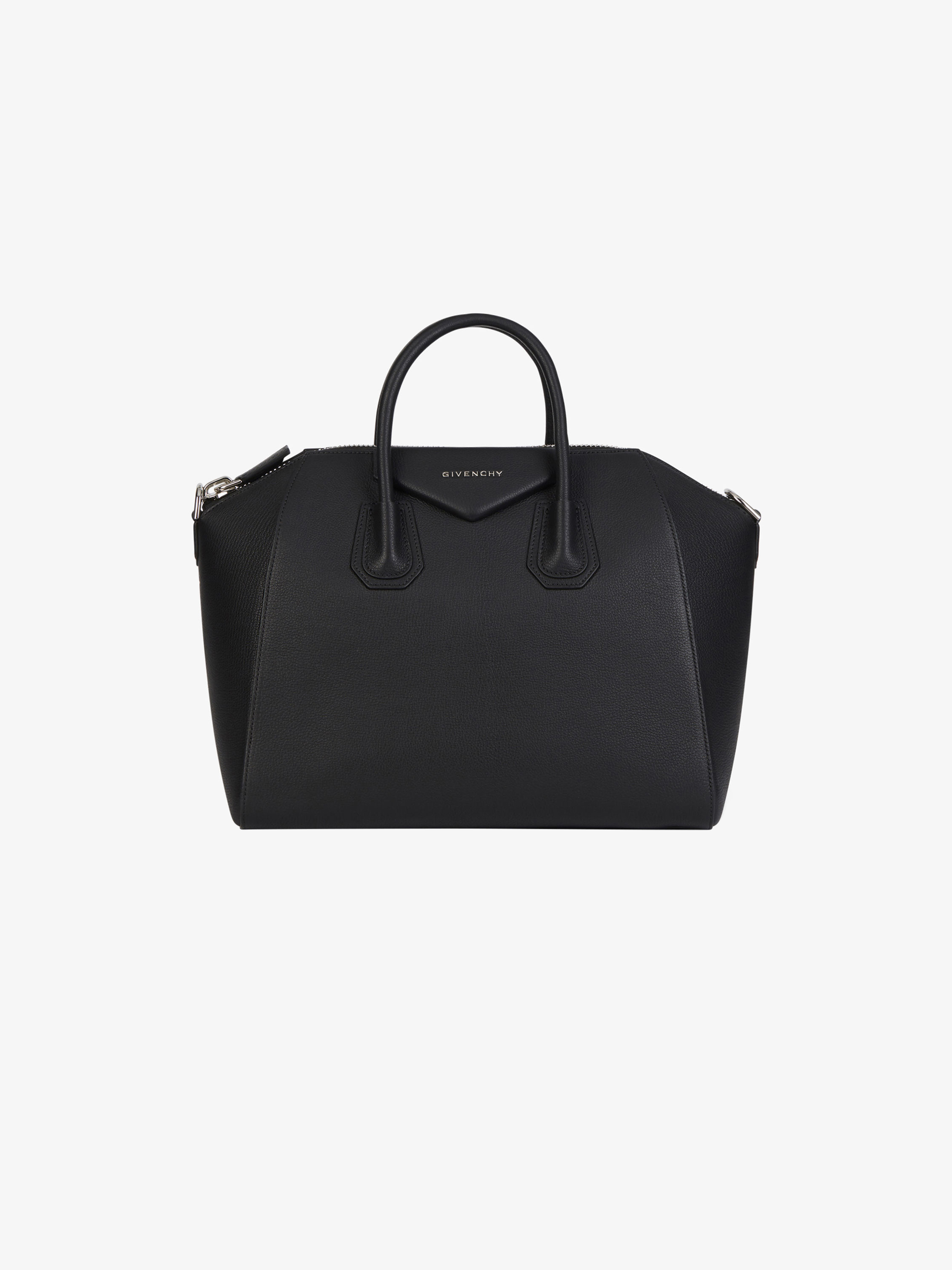 Medium Antigona bag in grained leather